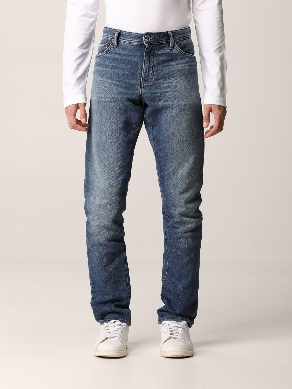 Armani Exchange Jeans Skinny Fit Stretch Zip Denim