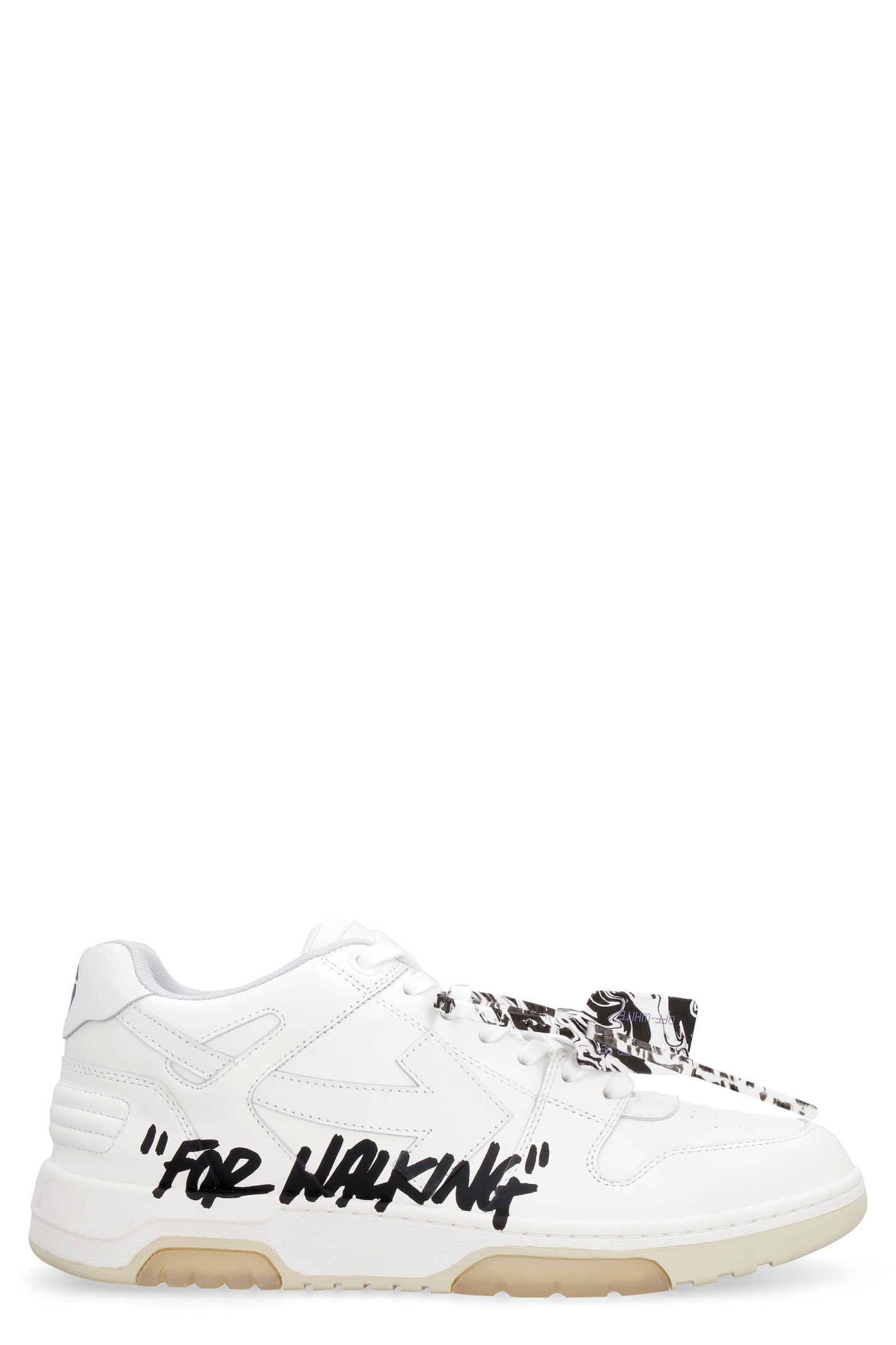 Off-White Leathers OUT OF OFFICE LEATHER SNEAKERS