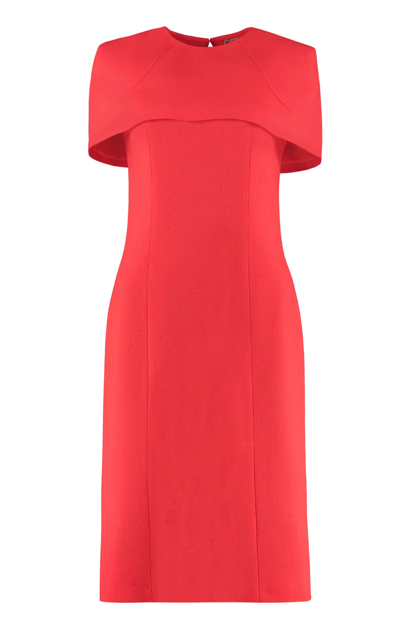 Buy Givenchy Crepe Sheath Dress online, shop Givenchy with free shipping