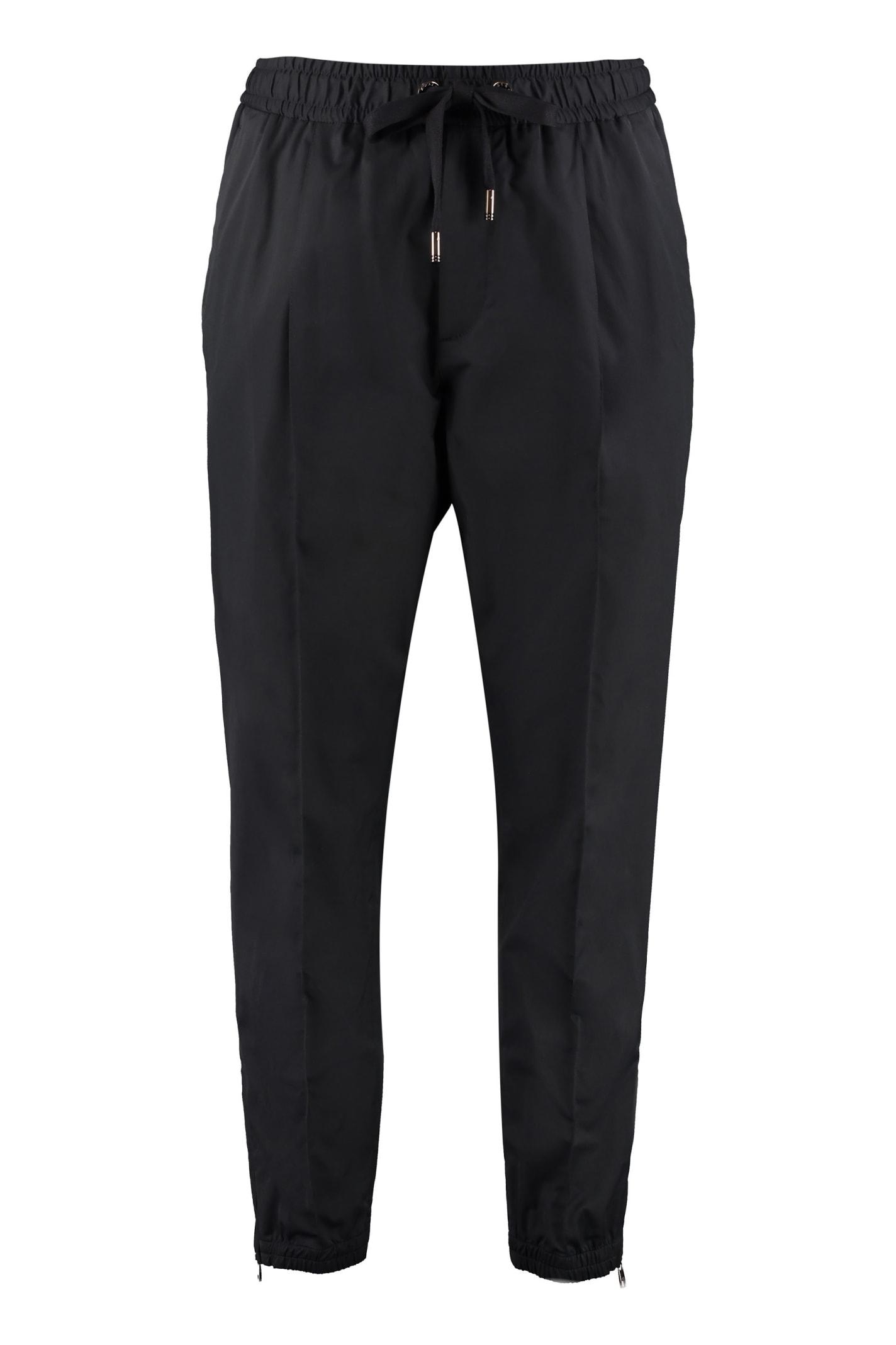 Dolce & Gabbana Techno Fabric Track Pants