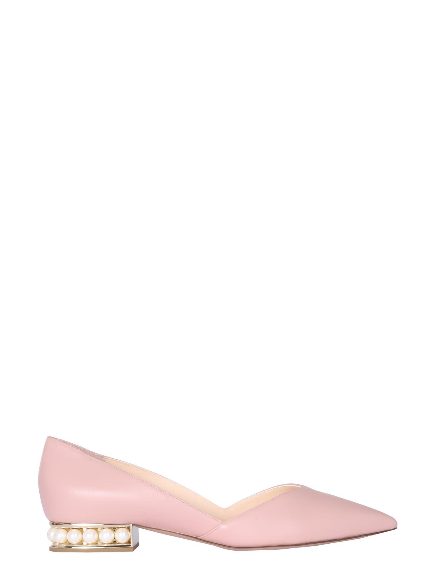 Buy Nicholas Kirkwood Casati Dorsay Ballerinas online, shop Nicholas Kirkwood shoes with free shipping