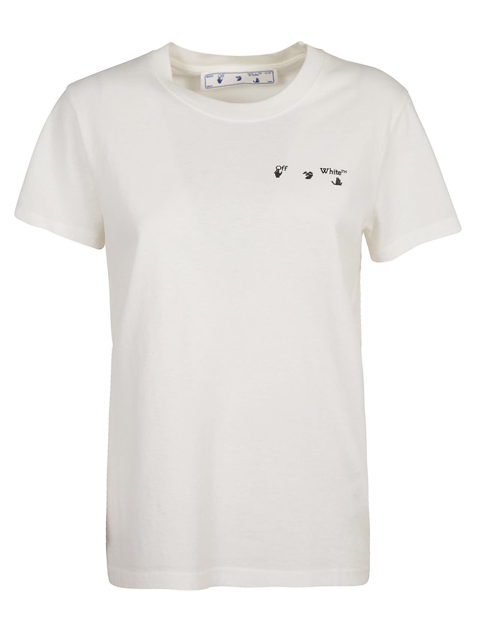 Off-White Casual Arrow Liquid Melt T-shirt