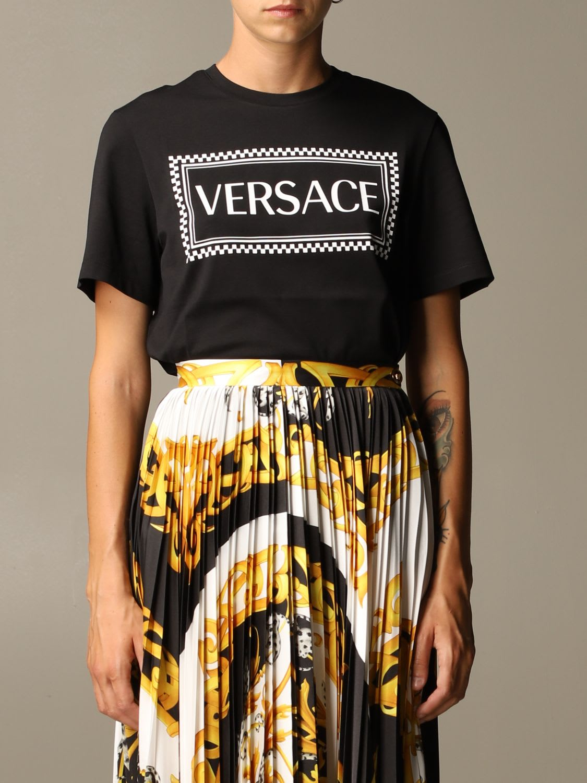 Versace T-shirt Versace T-shirt With 90s Vintage Logo
