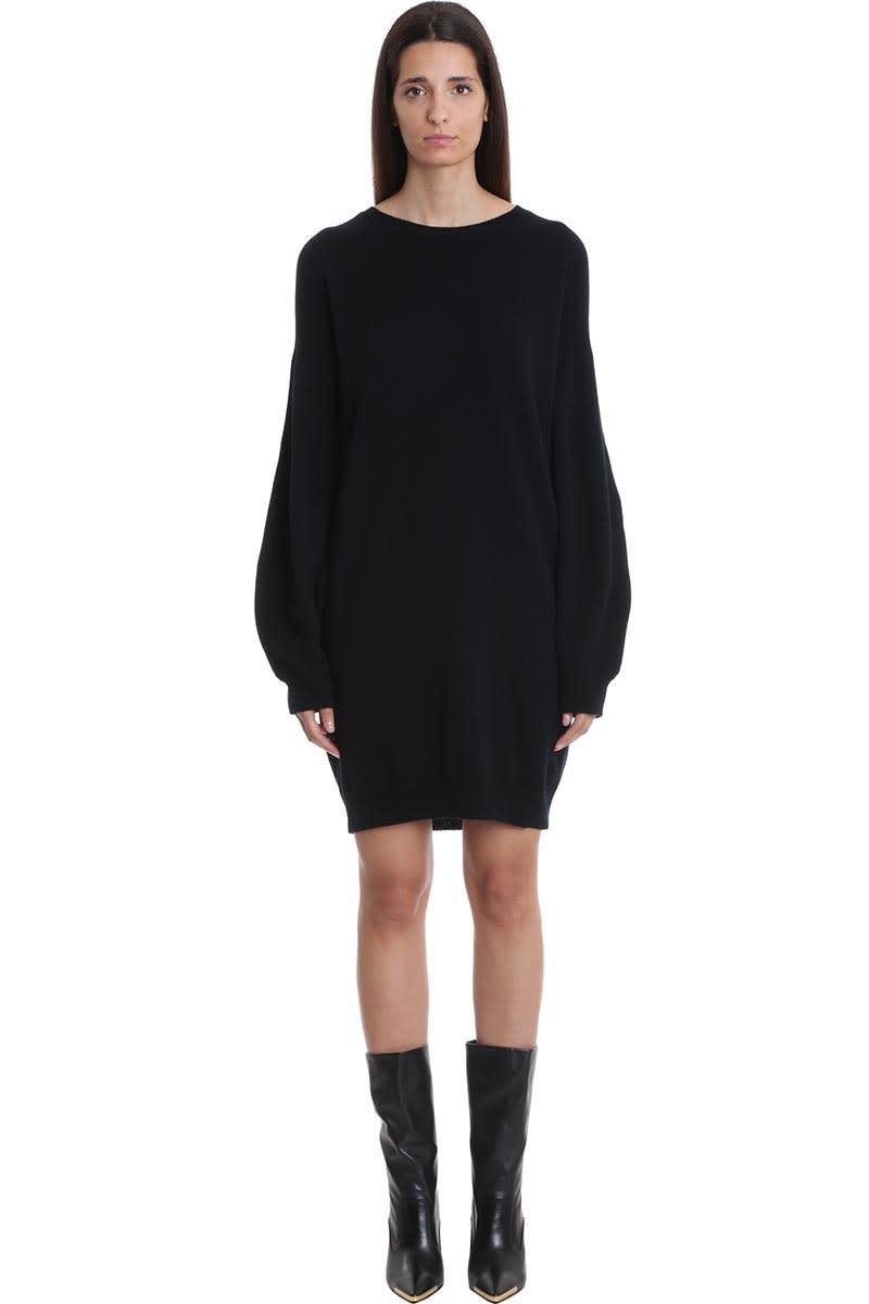 Stella McCartney Dress In Black Wool