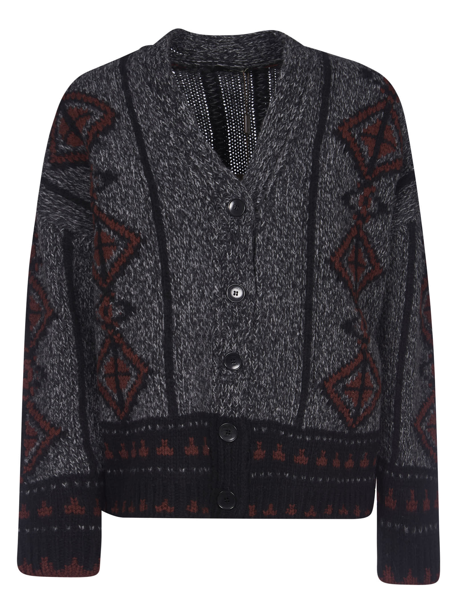Etro WOVEN PATTERNED CARDIGAN