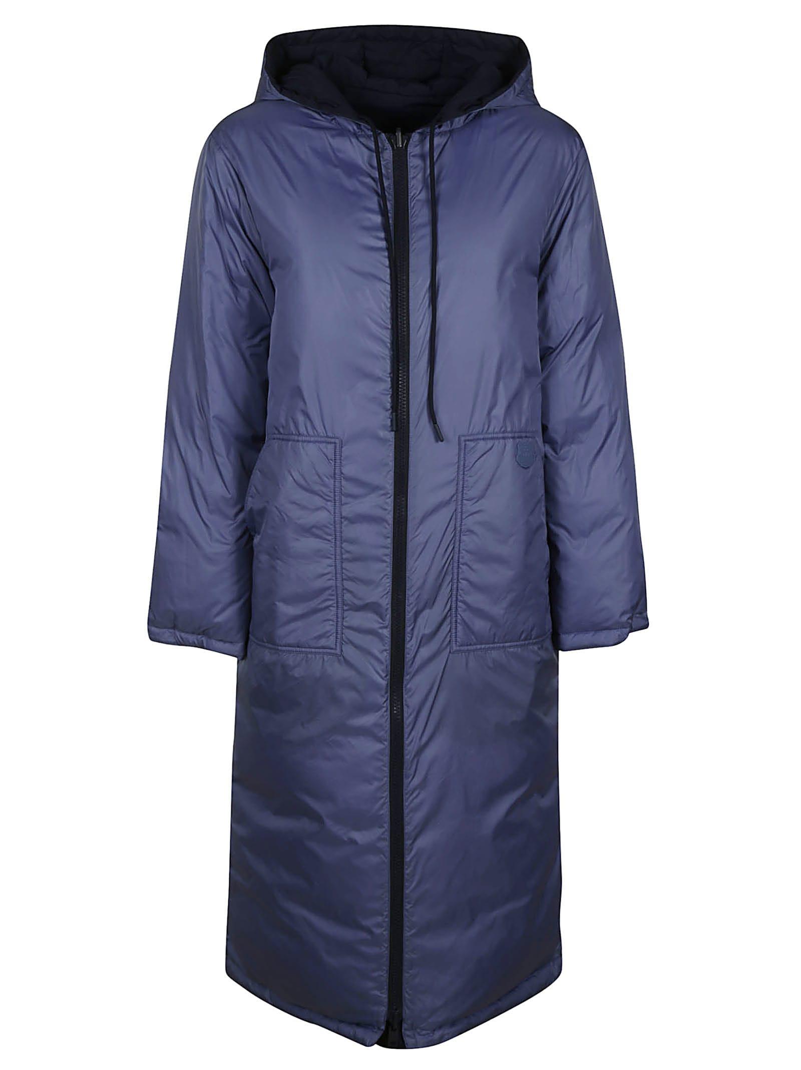 Kenzo Elongated Puffer Reversible Raincoat