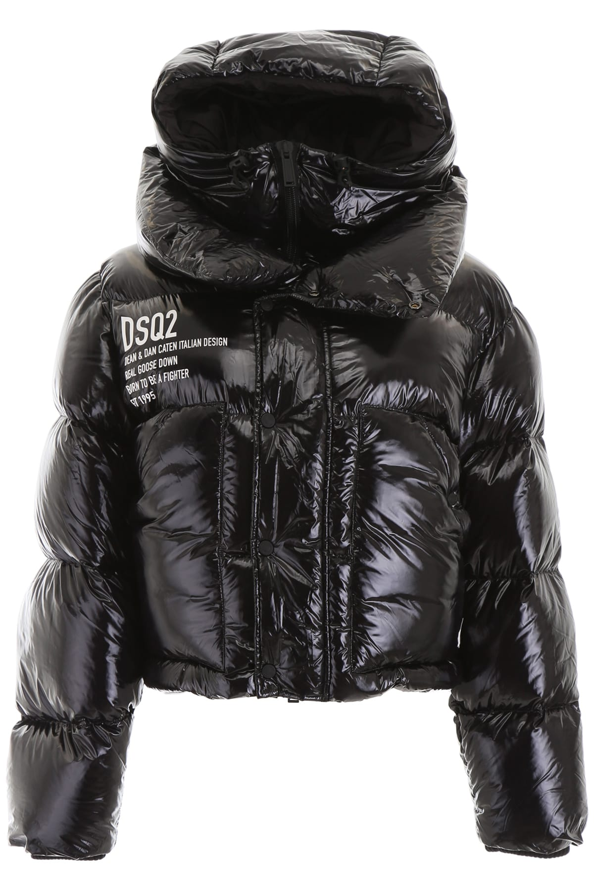 Dsquared2 Puffer Jacket With Vest