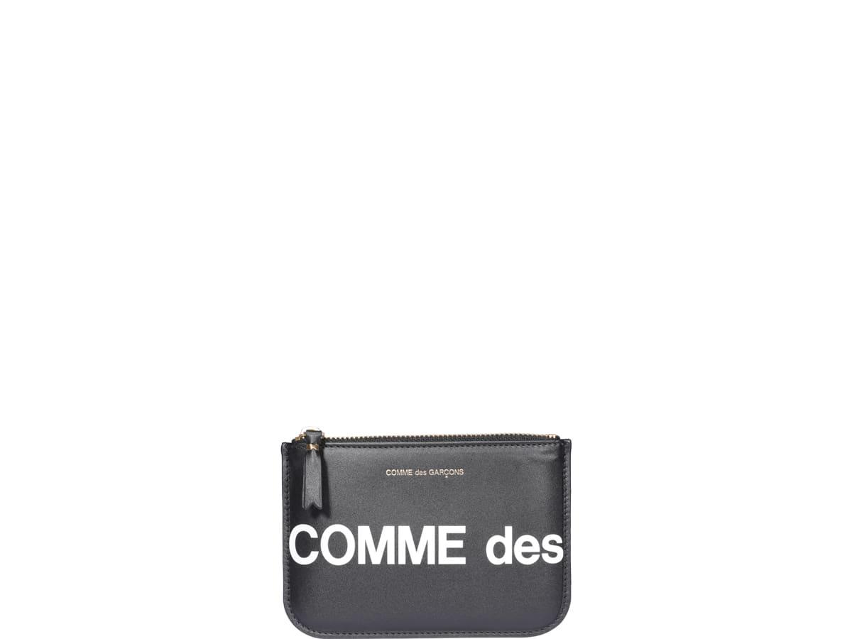 Comme Des Garçons Wallet Logo Wallet
