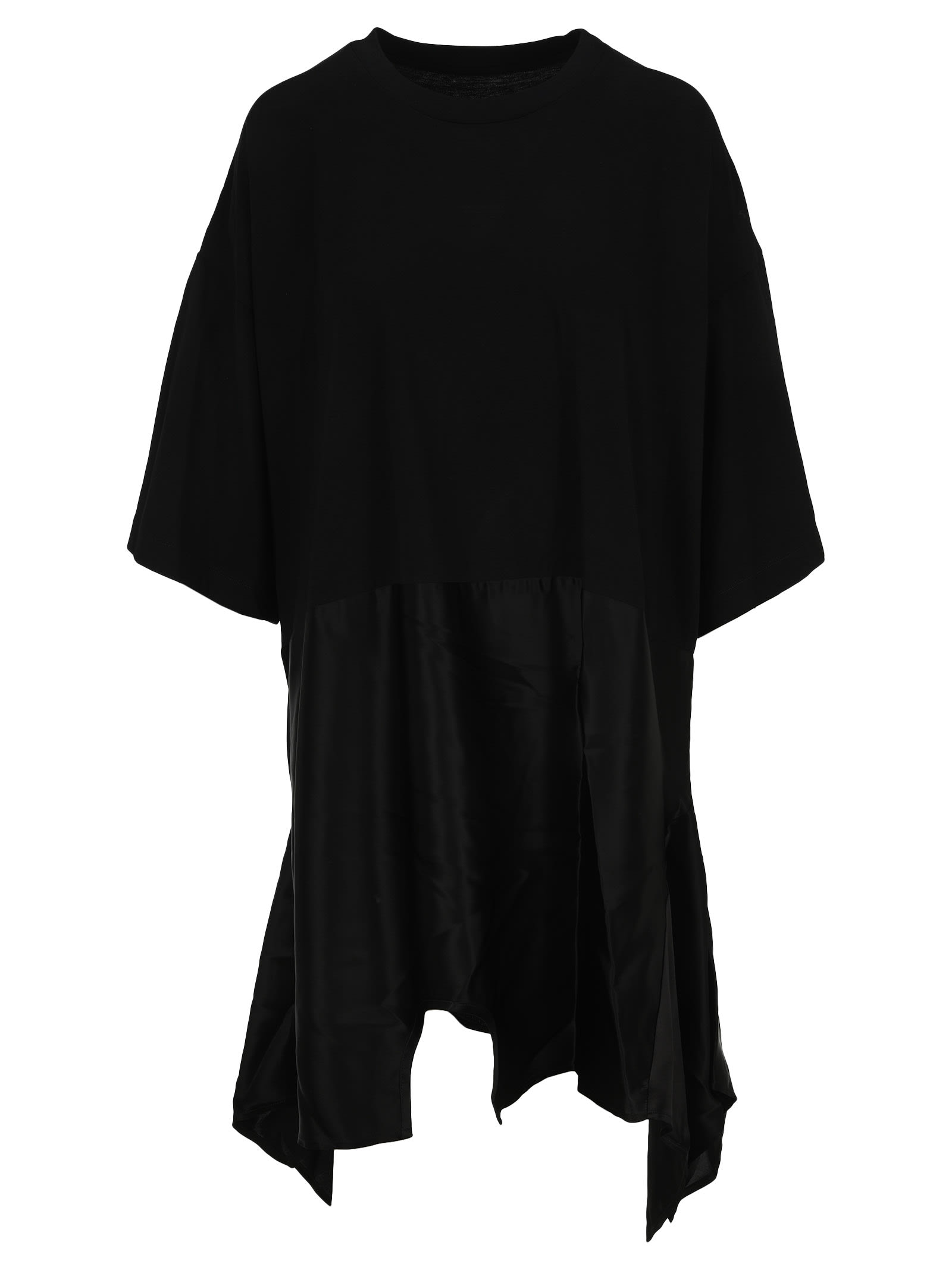 Mm6 Maison Margiela MM6 ASYMMETRIC HEM T-SHIRT DRESS