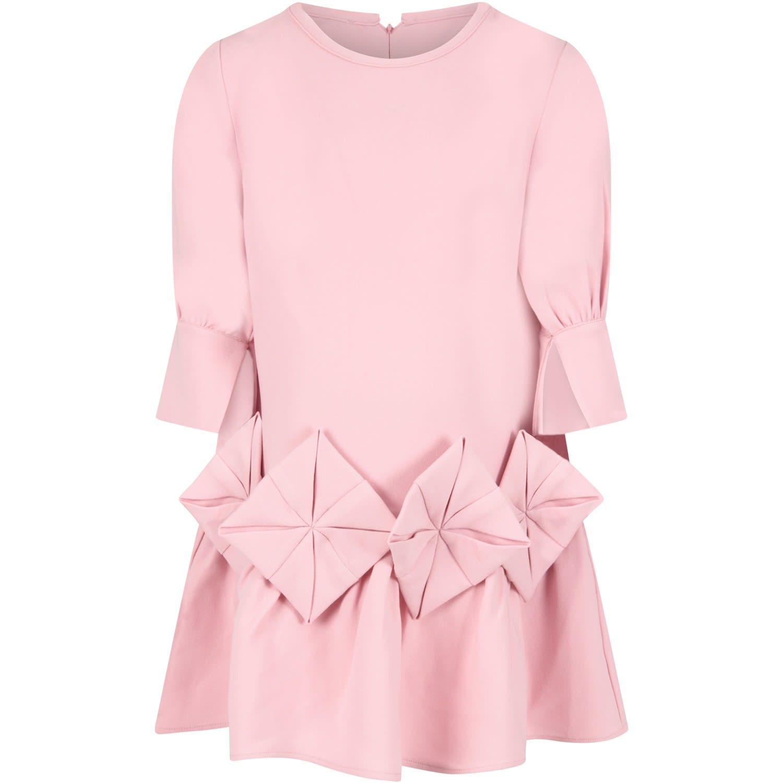 Buy Owa Yurika Pink shion Dress For Girl online, shop Owa Yurika with free shipping
