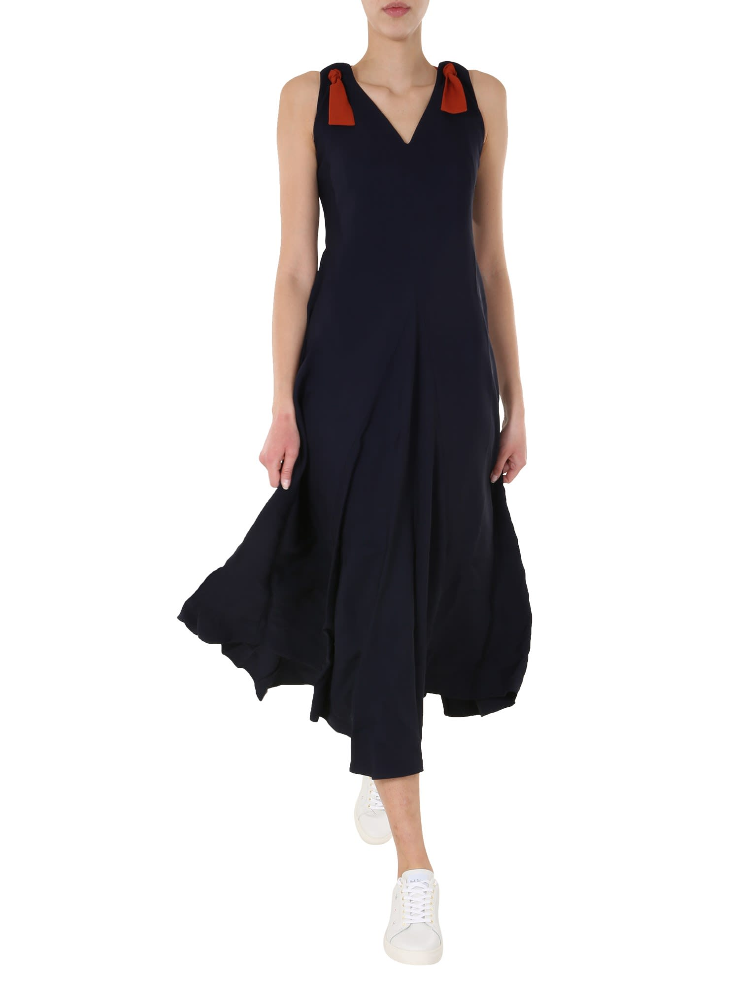 Buy Paul Smith V-neck Dress online, shop Paul Smith with free shipping