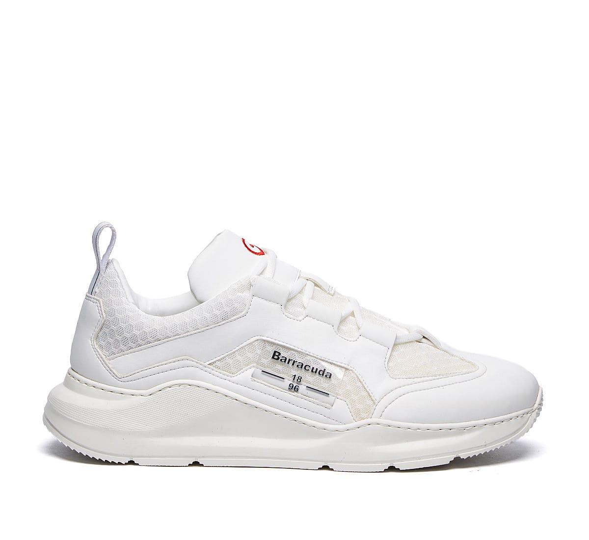 Barracuda Sneaker In Bianco/bianco/trasparente
