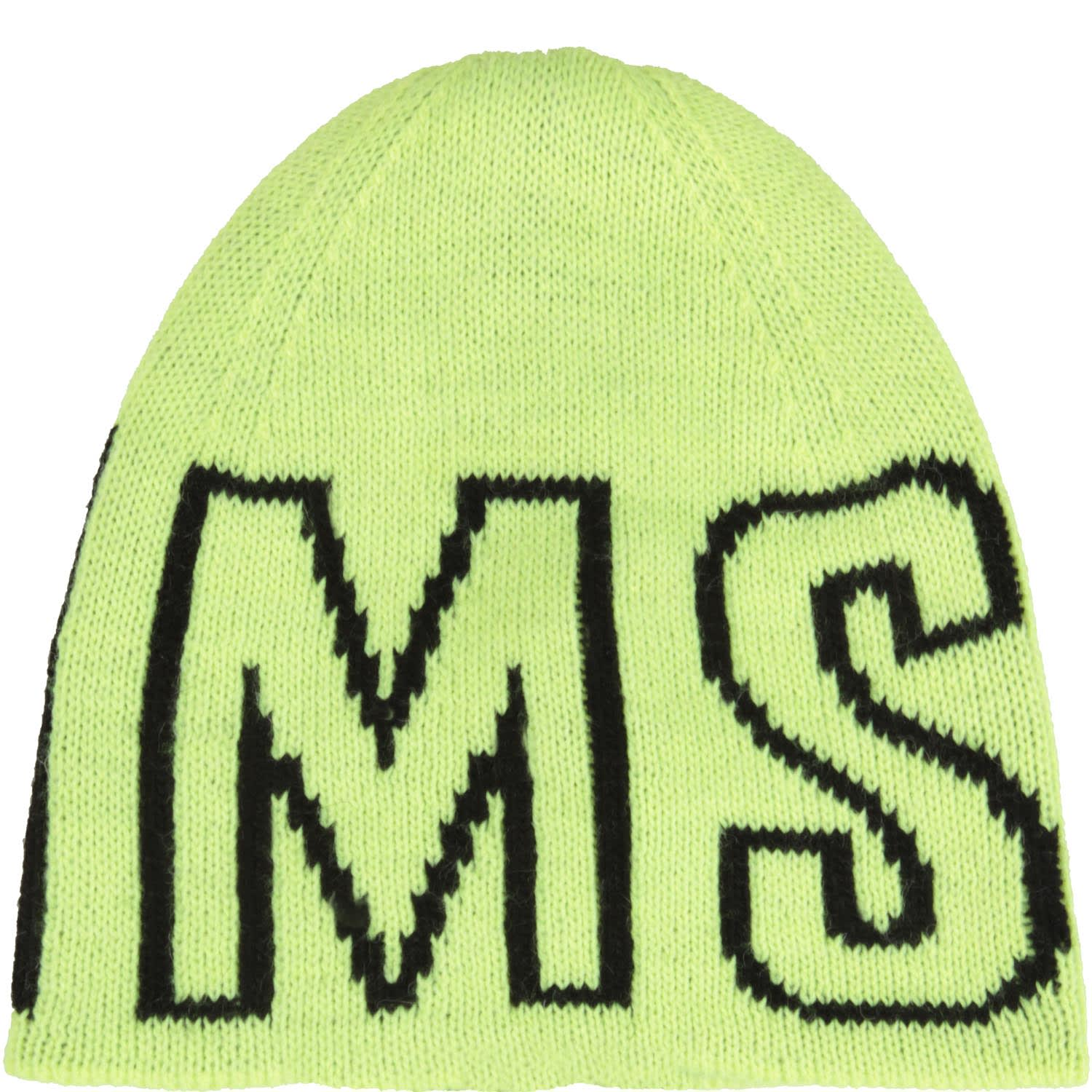 MSGM Yellow Hat For Kids With Logo
