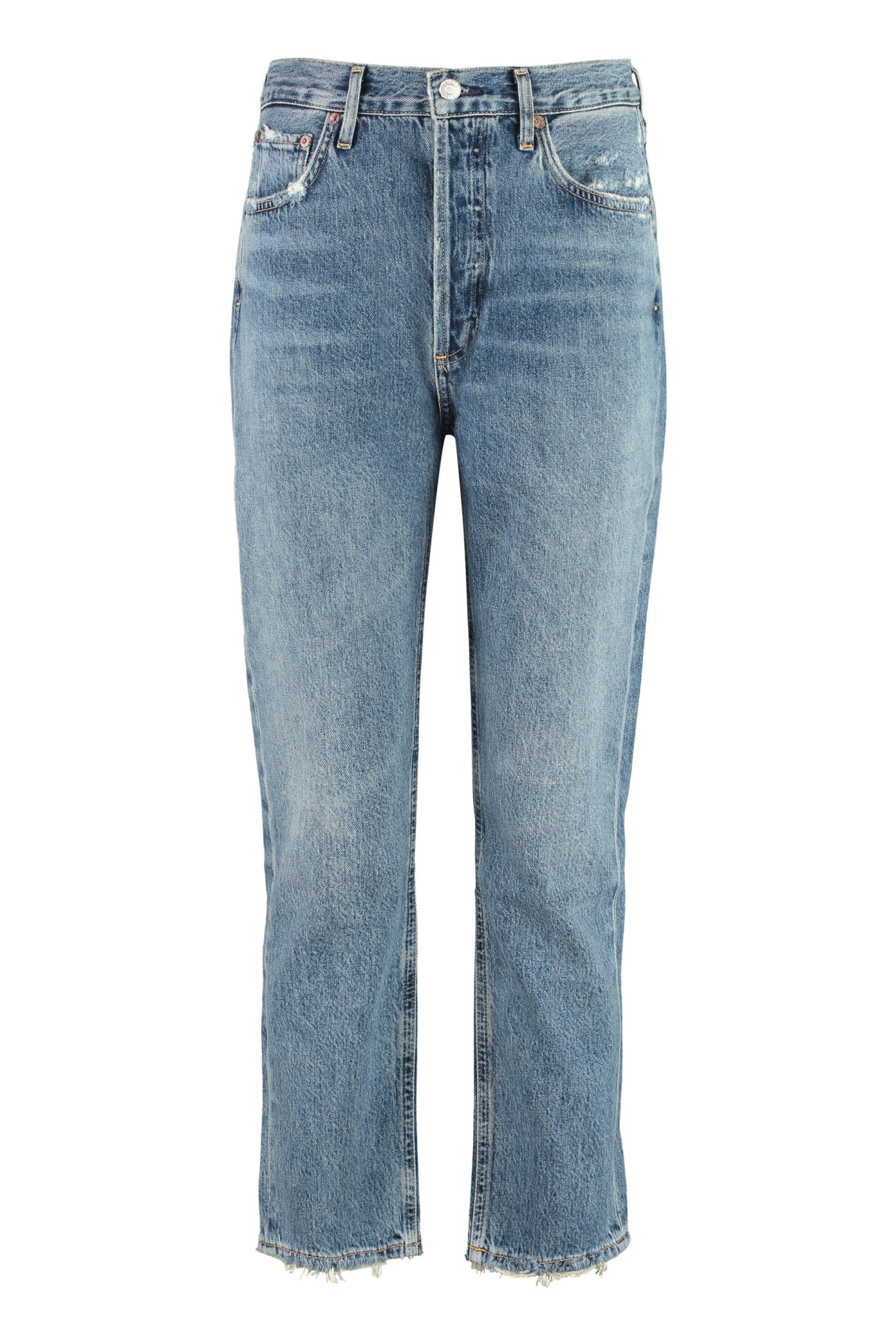 AGOLDE Riley Distressed Jeans