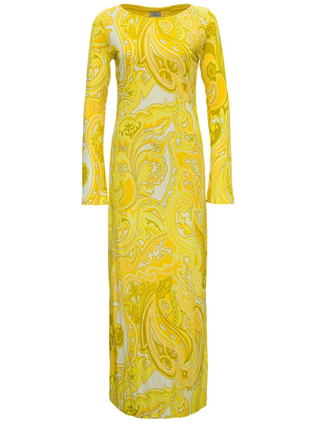 Buy Etro Corfu Dress In Printed Jersey online, shop Etro with free shipping