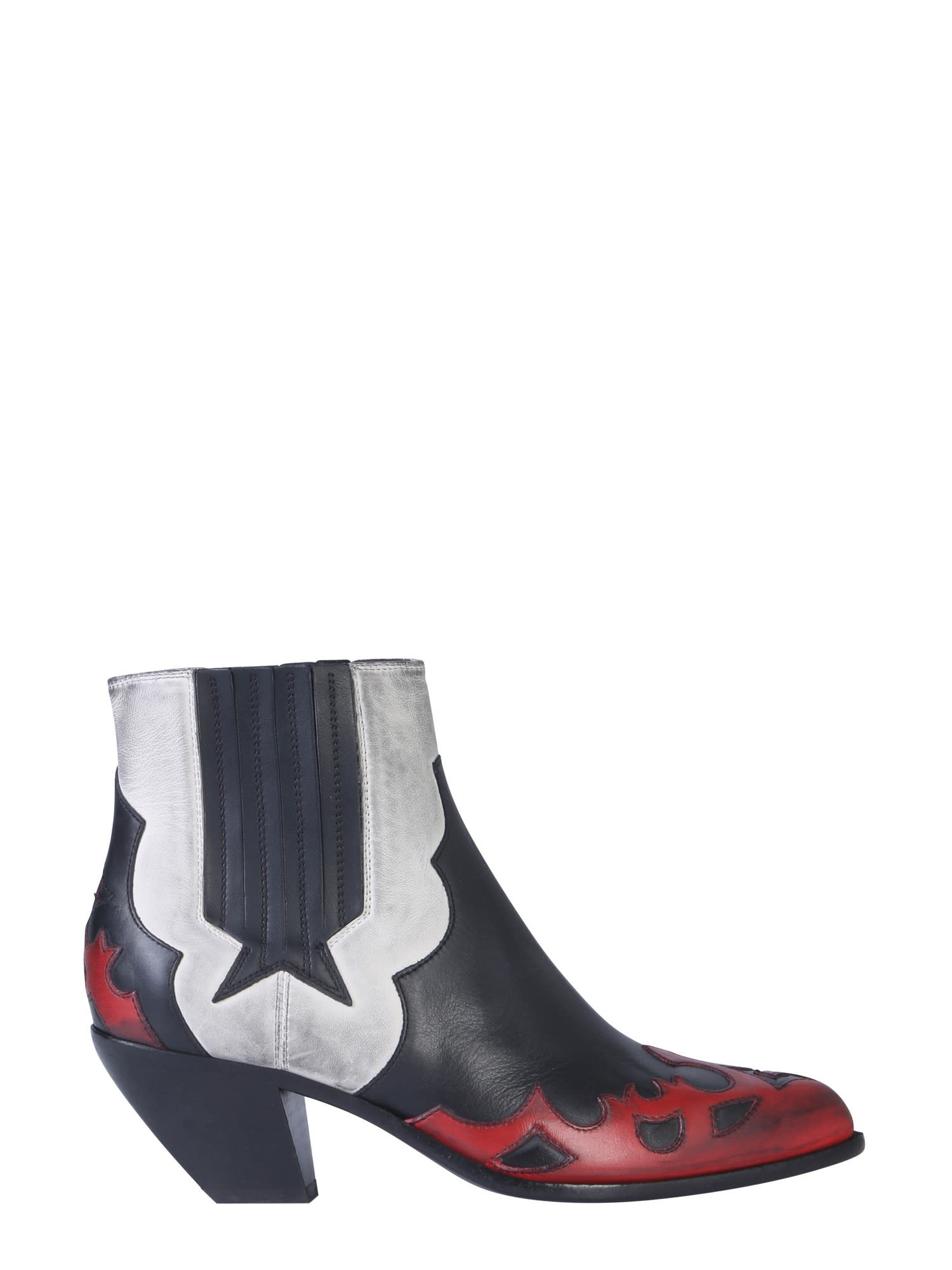 Buy Golden Goose Sunset Flowers Boots online, shop Golden Goose shoes with free shipping