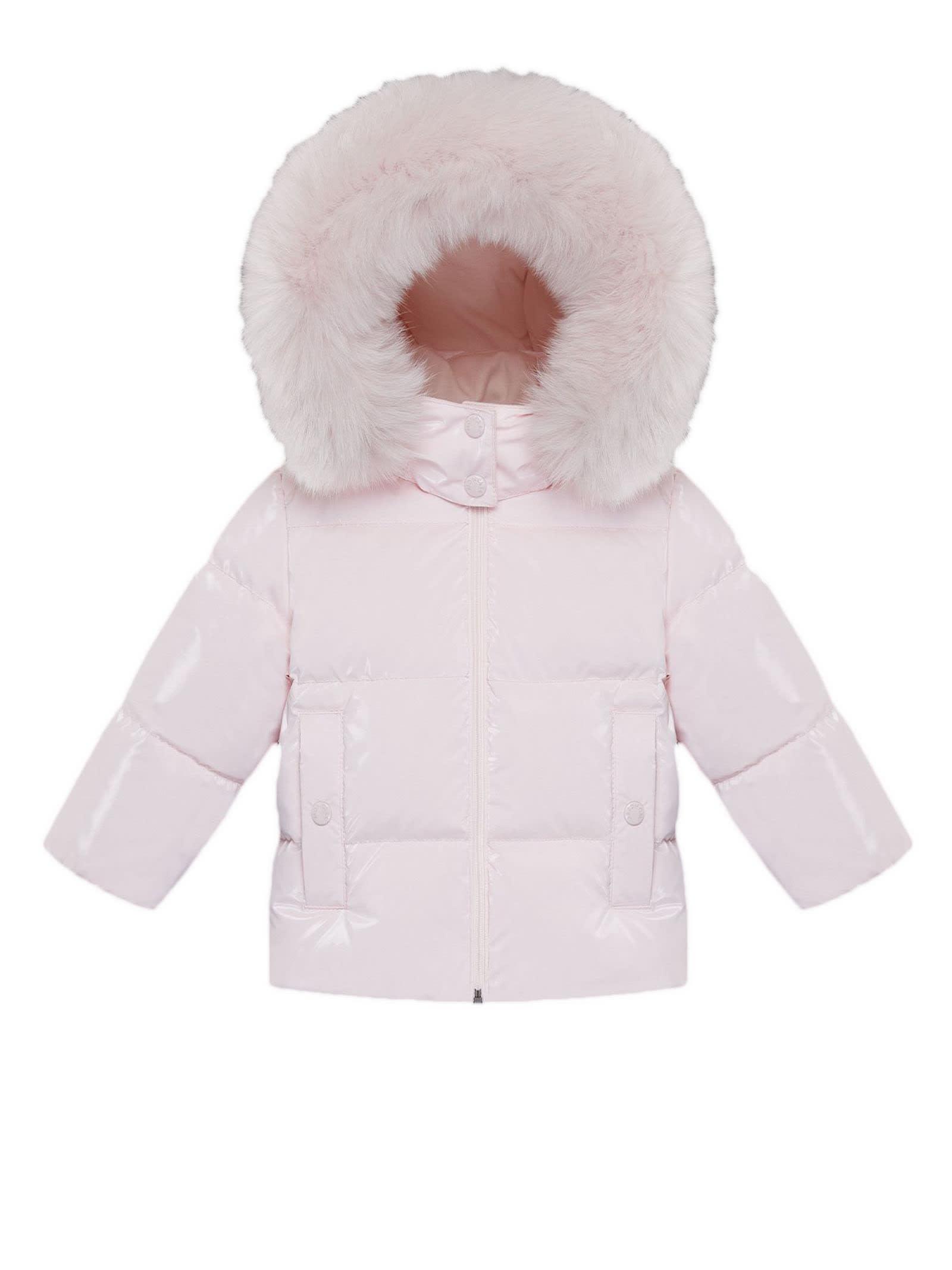 Moncler Pink Brianne Down Jacket