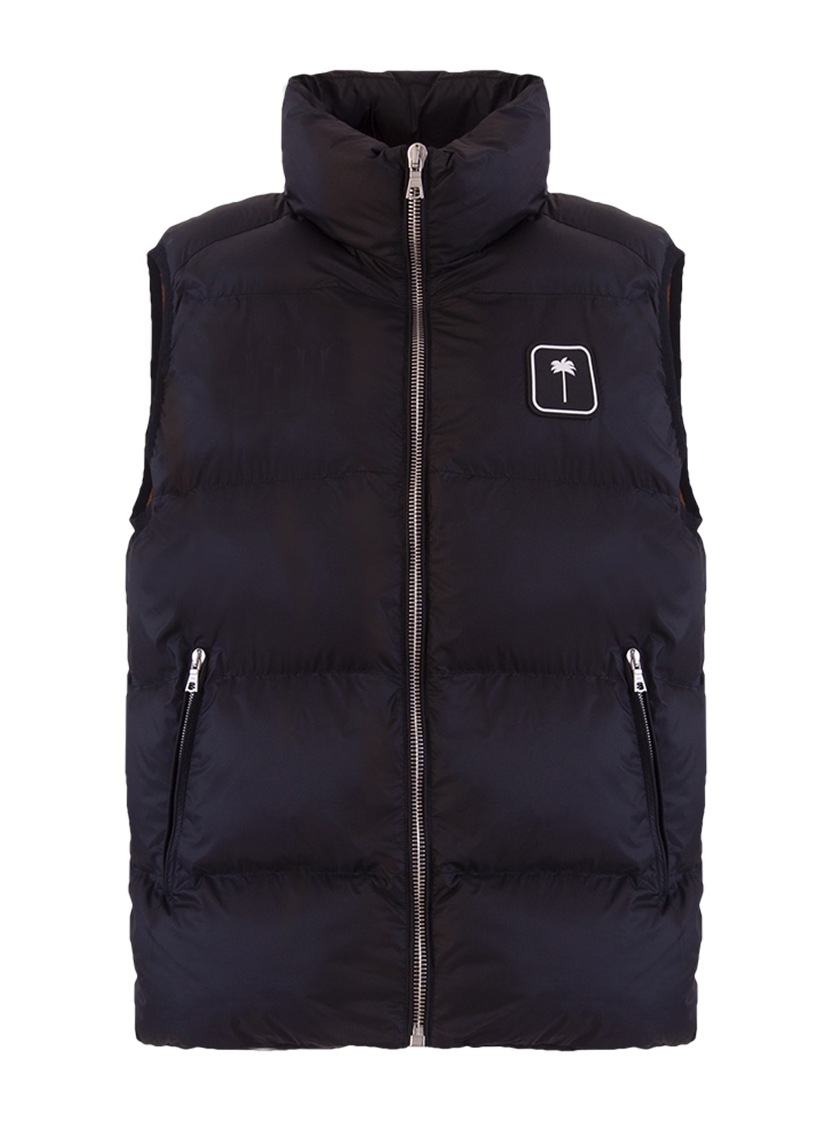 Palm Angels Logo-patch Padded Gilet