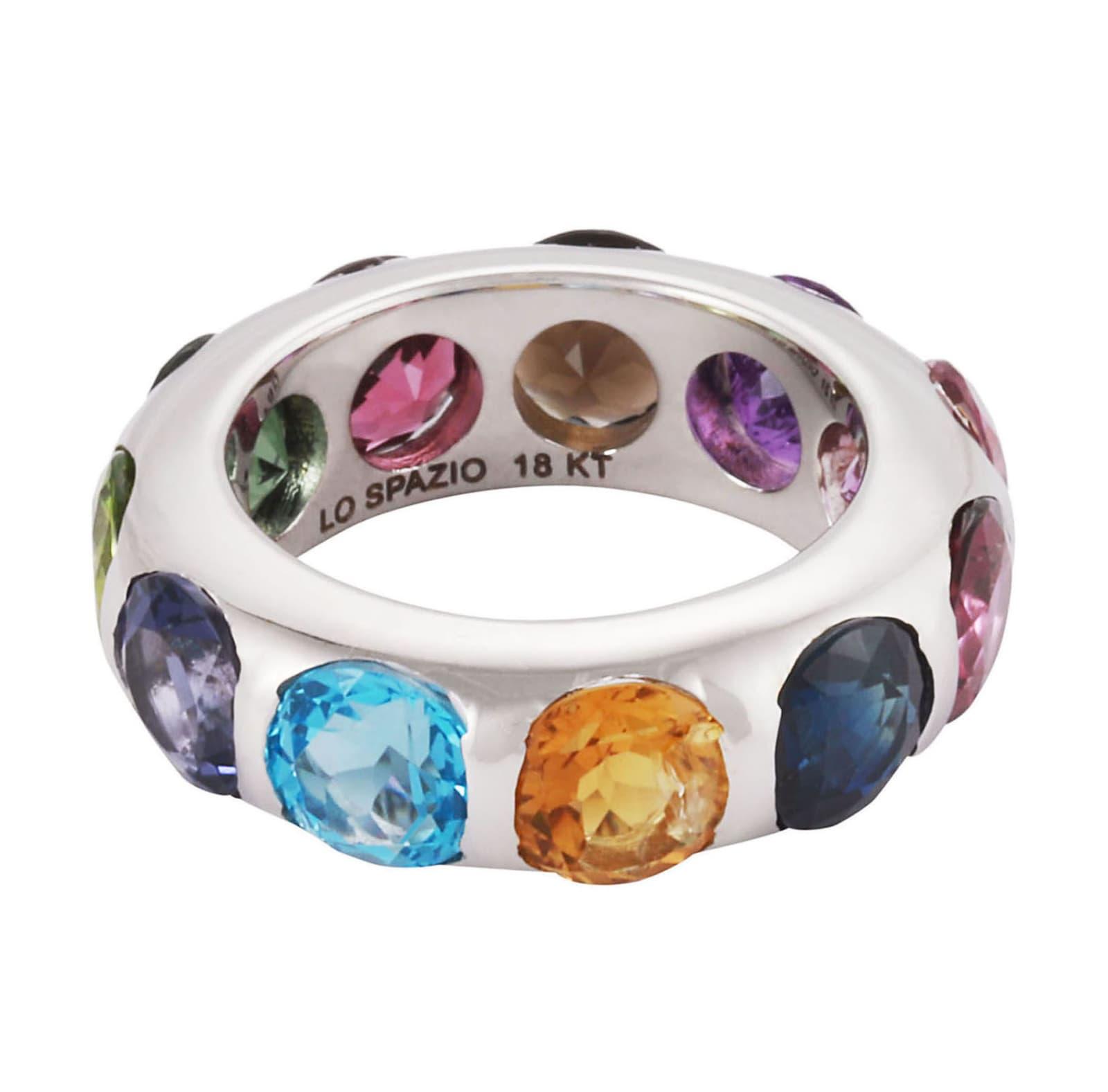 Lo Spazio Jewelry Lo Spazio Autunno Ring In Multicolor