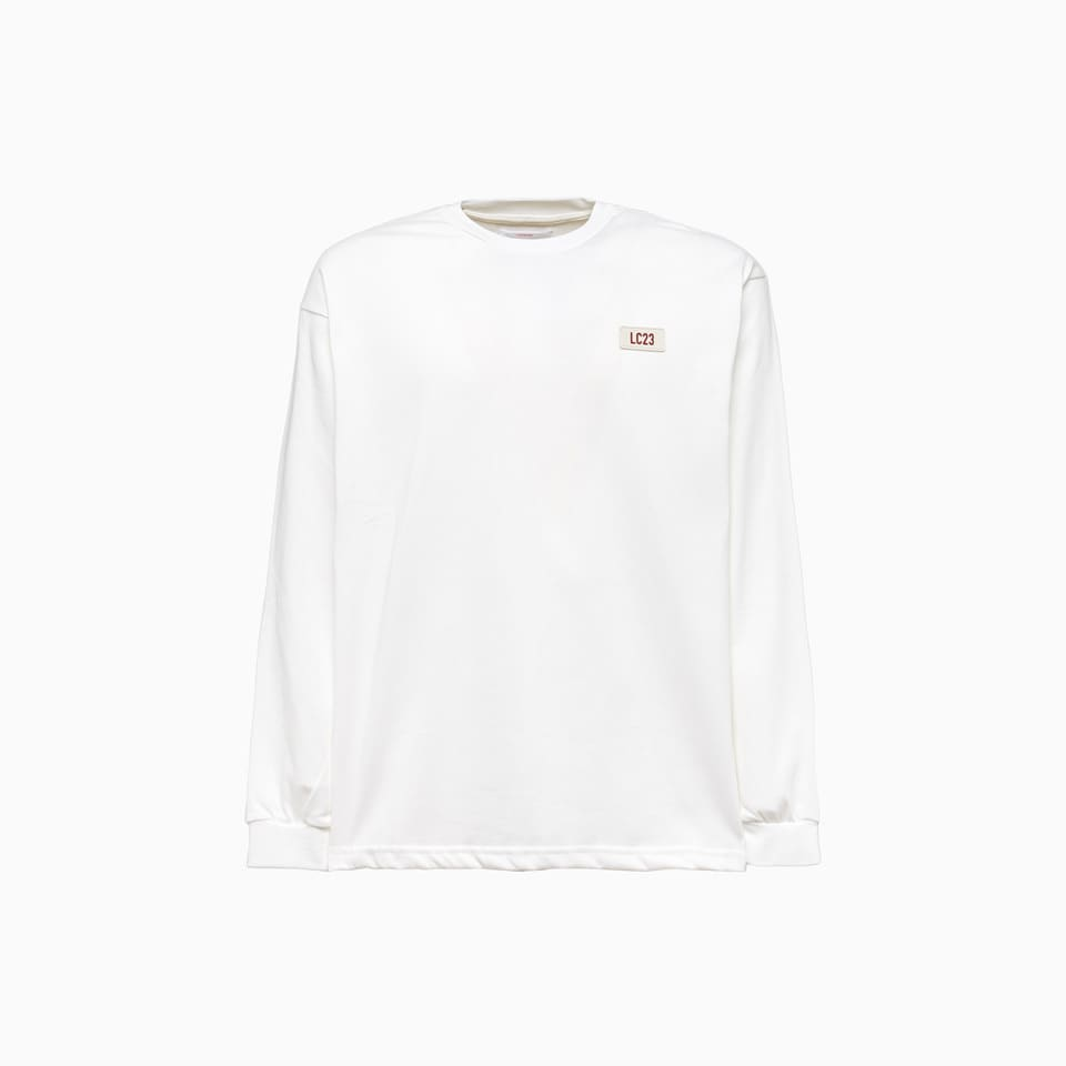 Lc23 Basic T-shirt T-102 In White