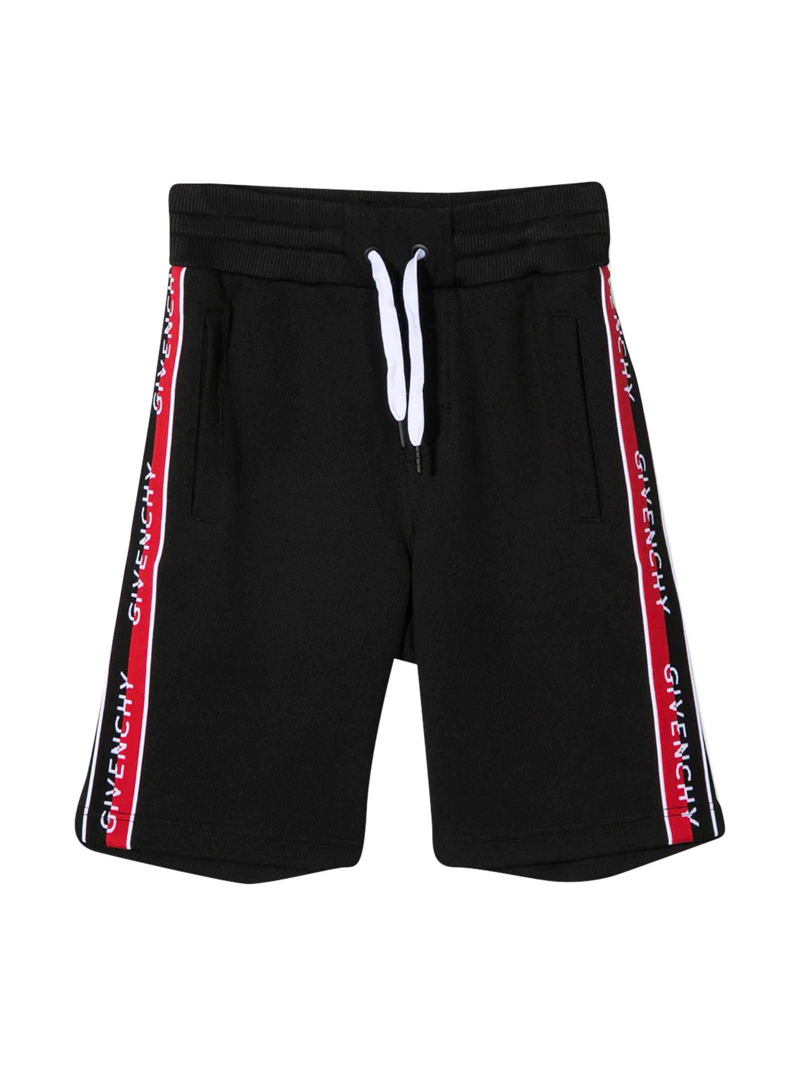 Givenchy Shorts TEEN SPORTS SHORTS WITH DRAWSTRING