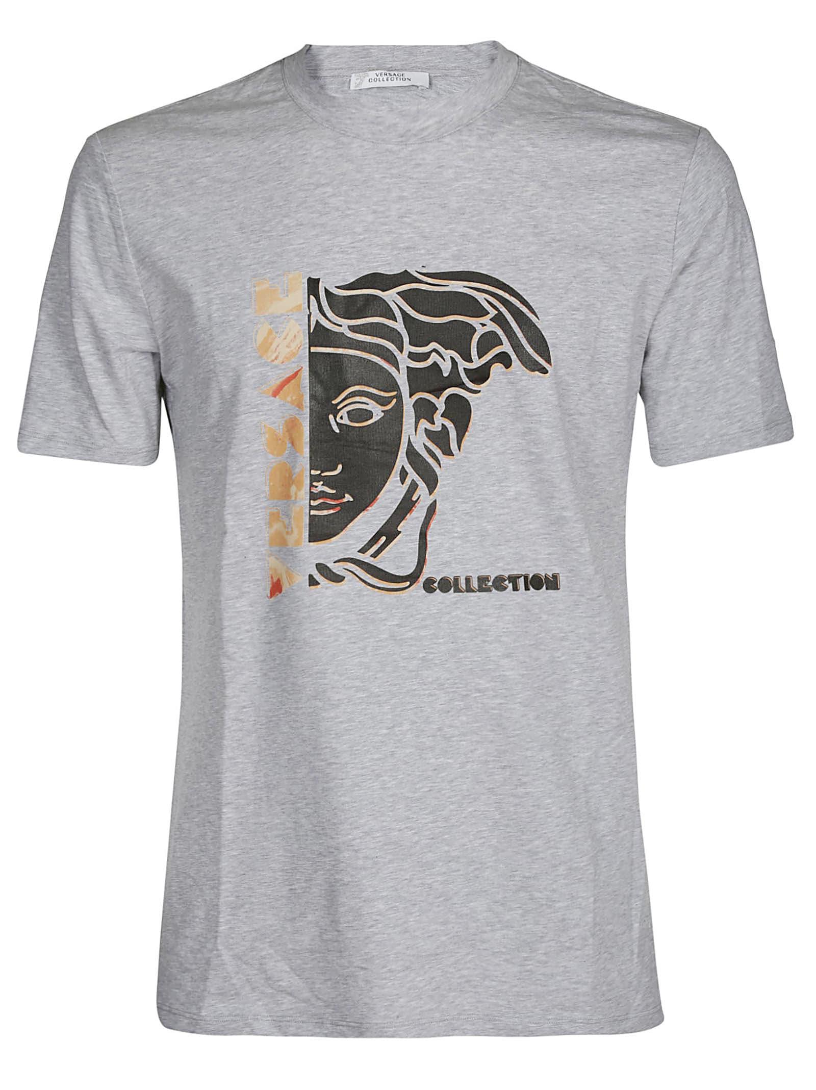 0bb872f5 Versace Collection Medusa Print T-shirt
