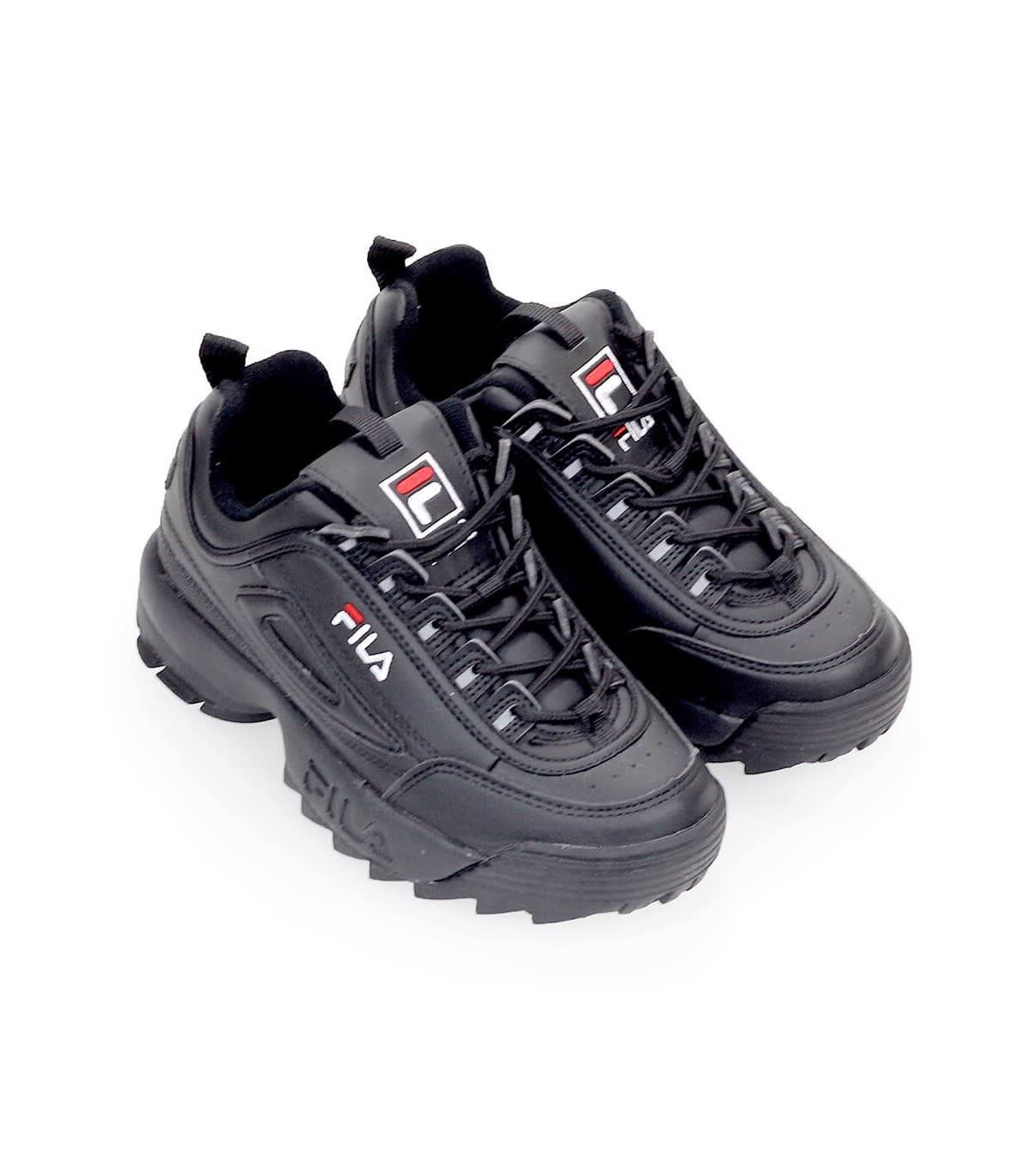 Fila Fila Disruptor Low Wmn Black Sneaker Nero 11170800