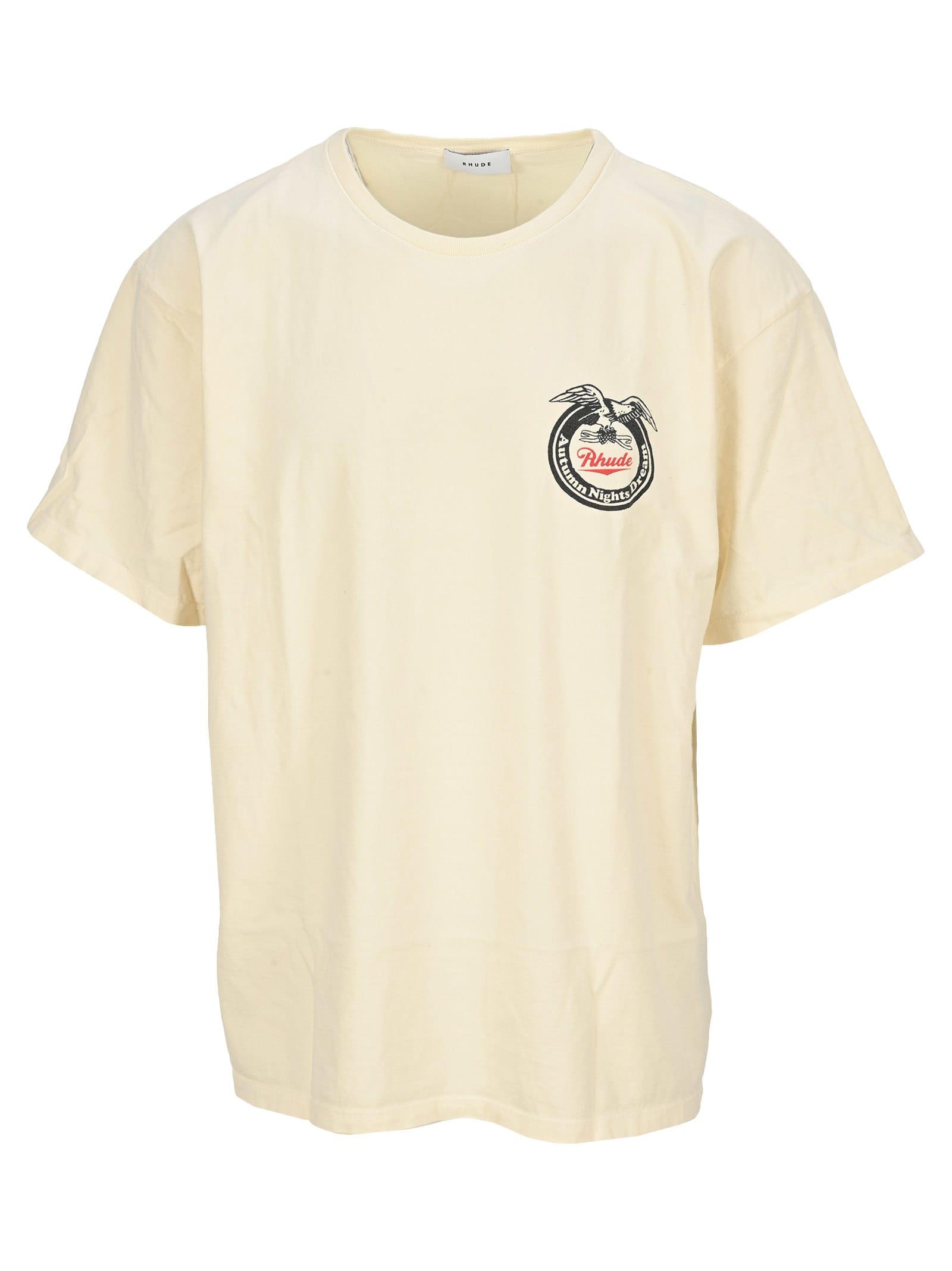 Rhude Eagle Logo T-shirt