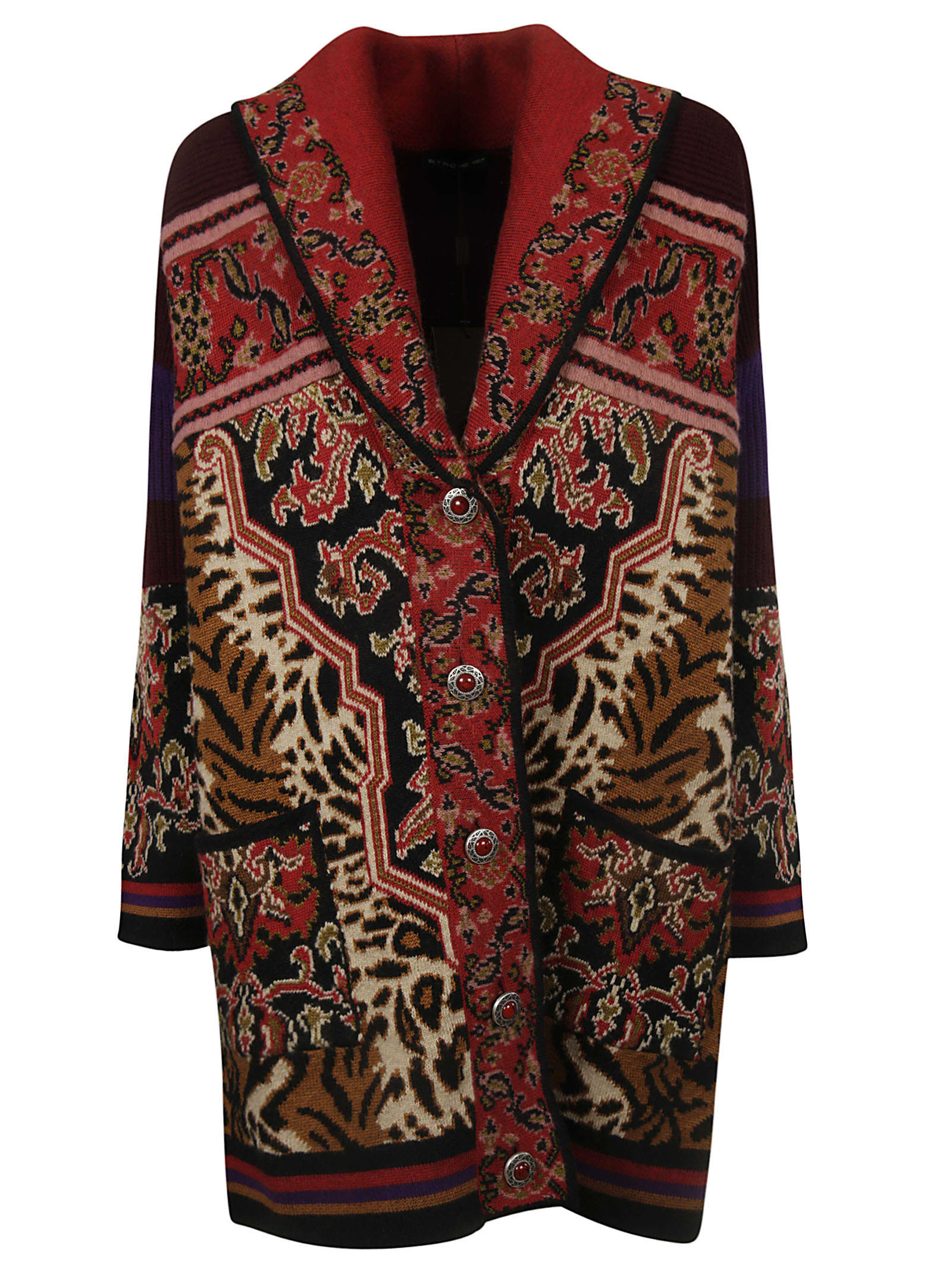Etro Single Breasted Cardi-coat