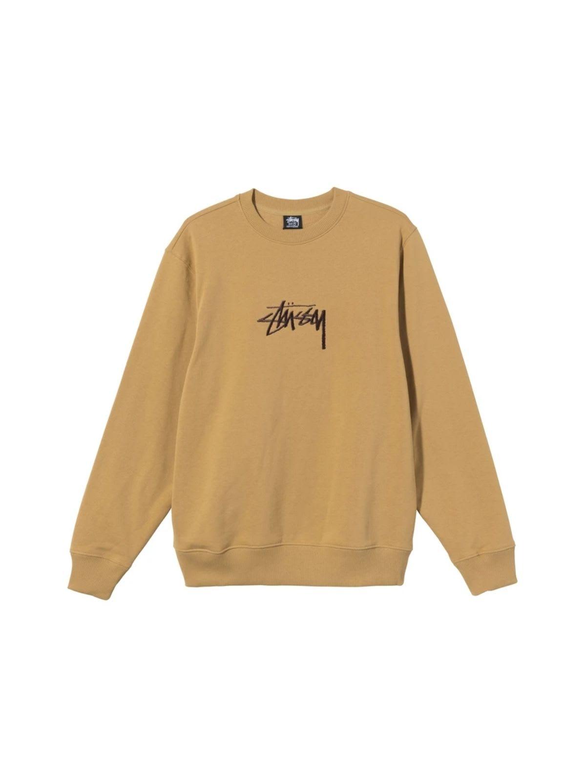 Stussy Sweaters STOCK APP CREW NECK SWEATSHIRT