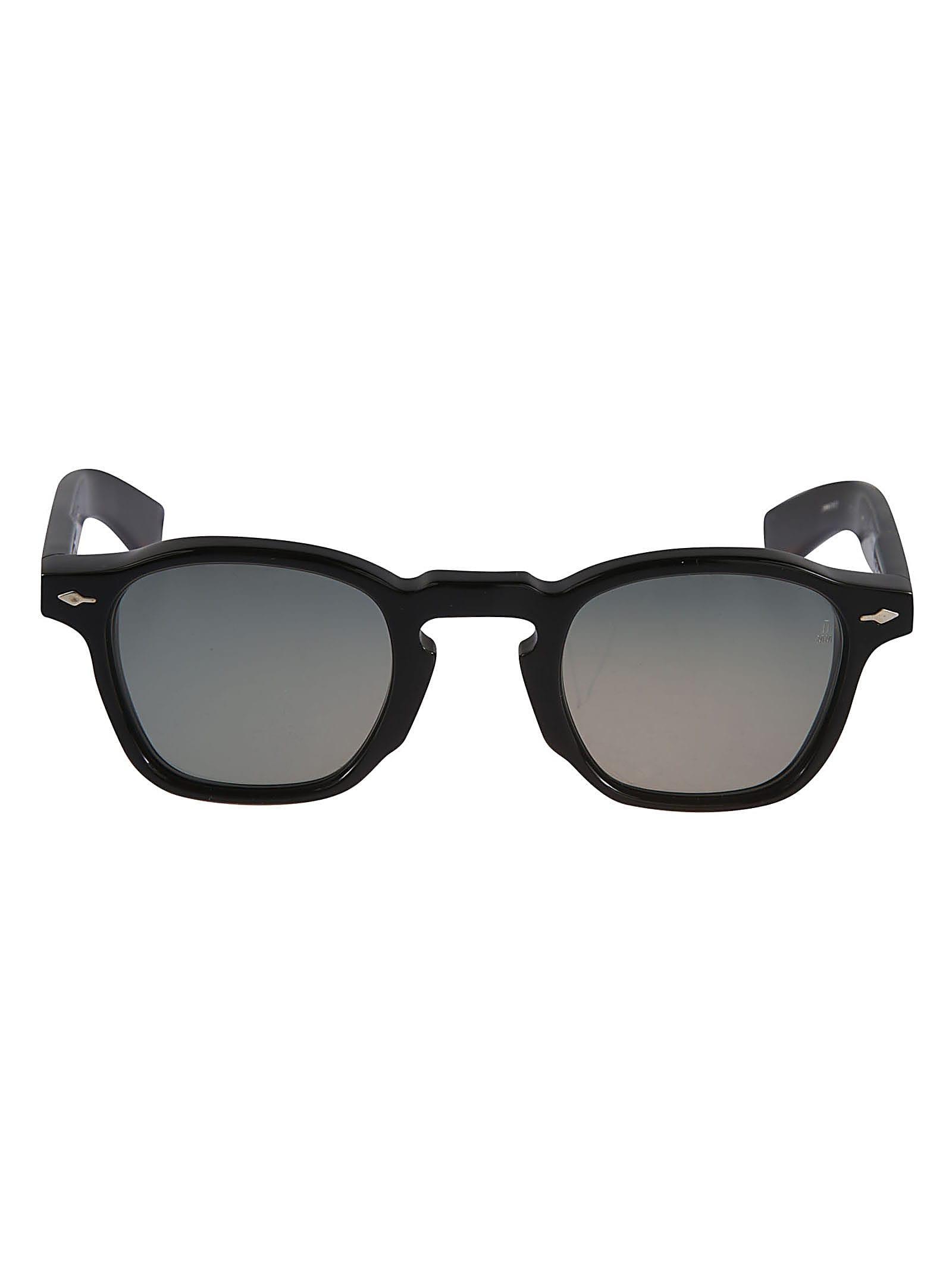 Logo Detail Curved Square Frame Sunglasses