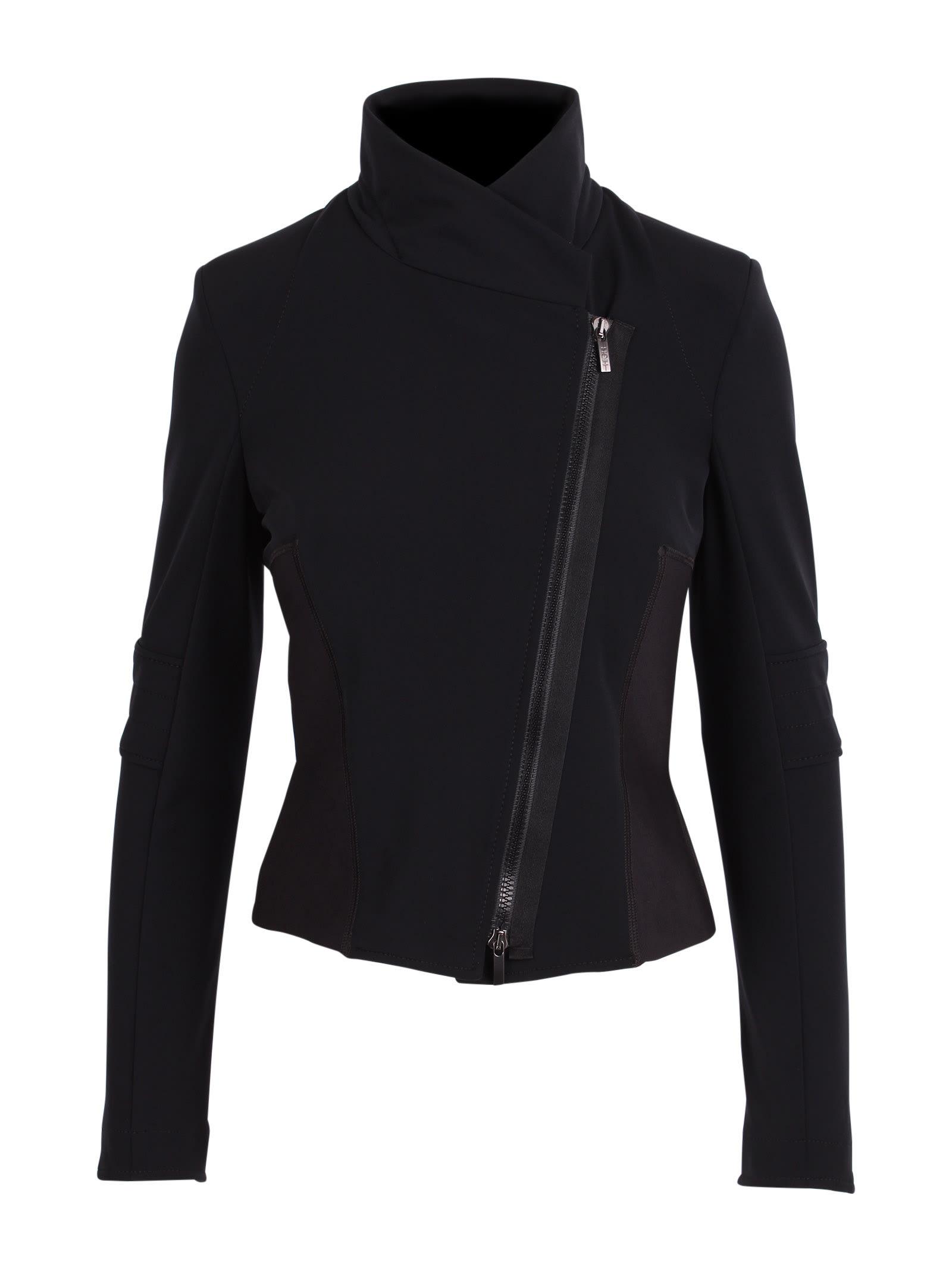 oblique Polyamide Jacket