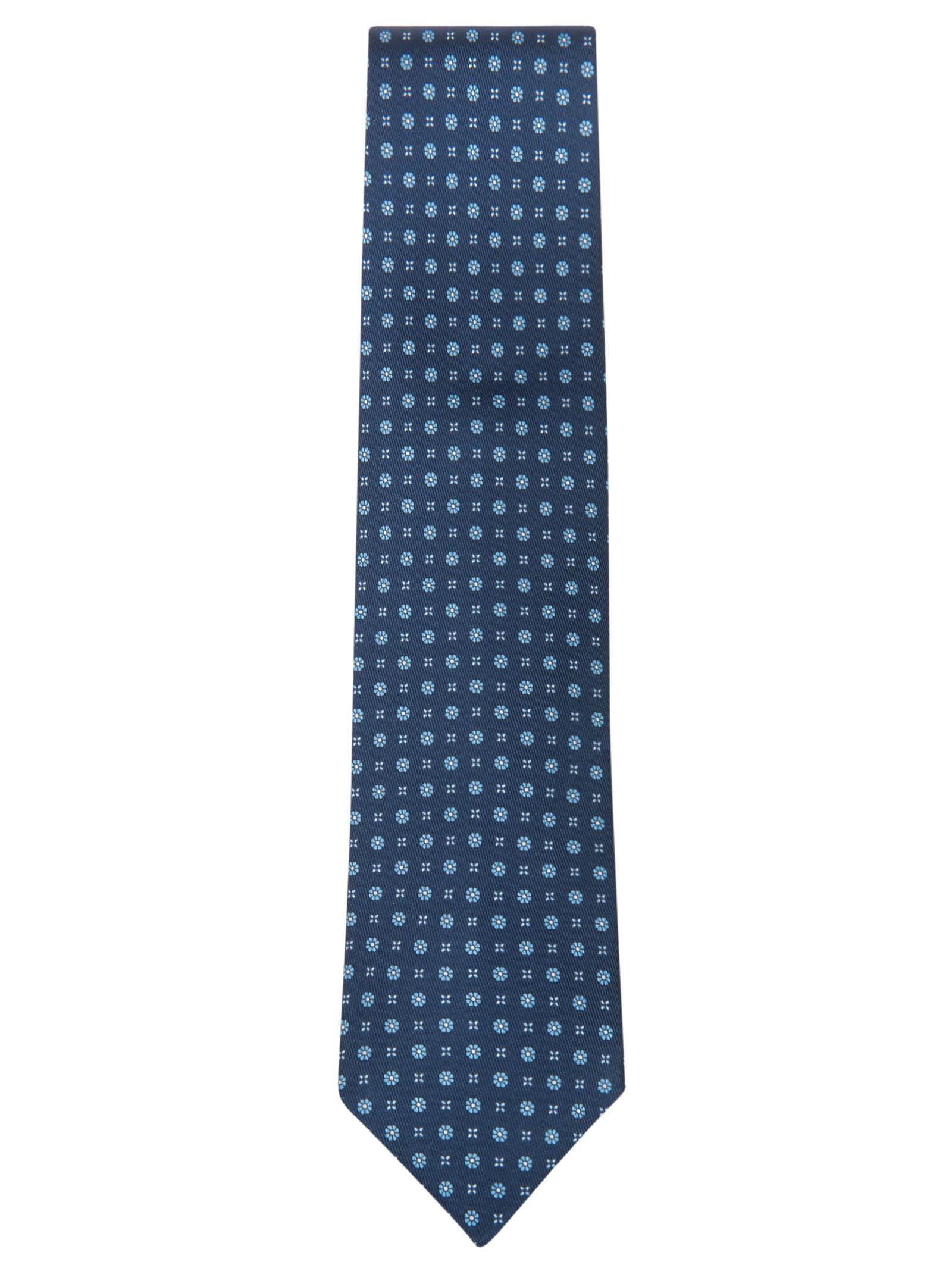 Floral Motif Neck Tie