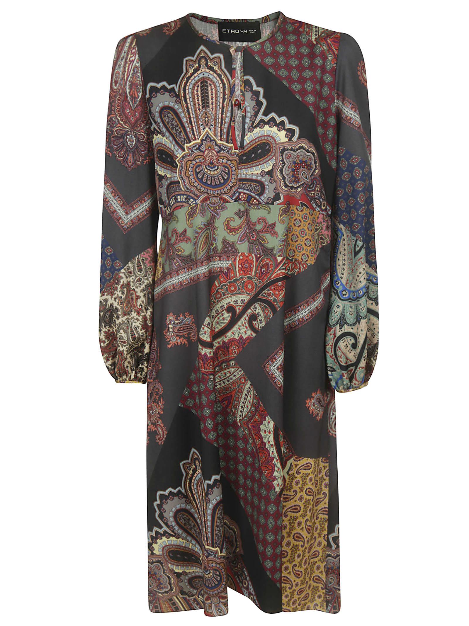 Etro Abstract Print Dress