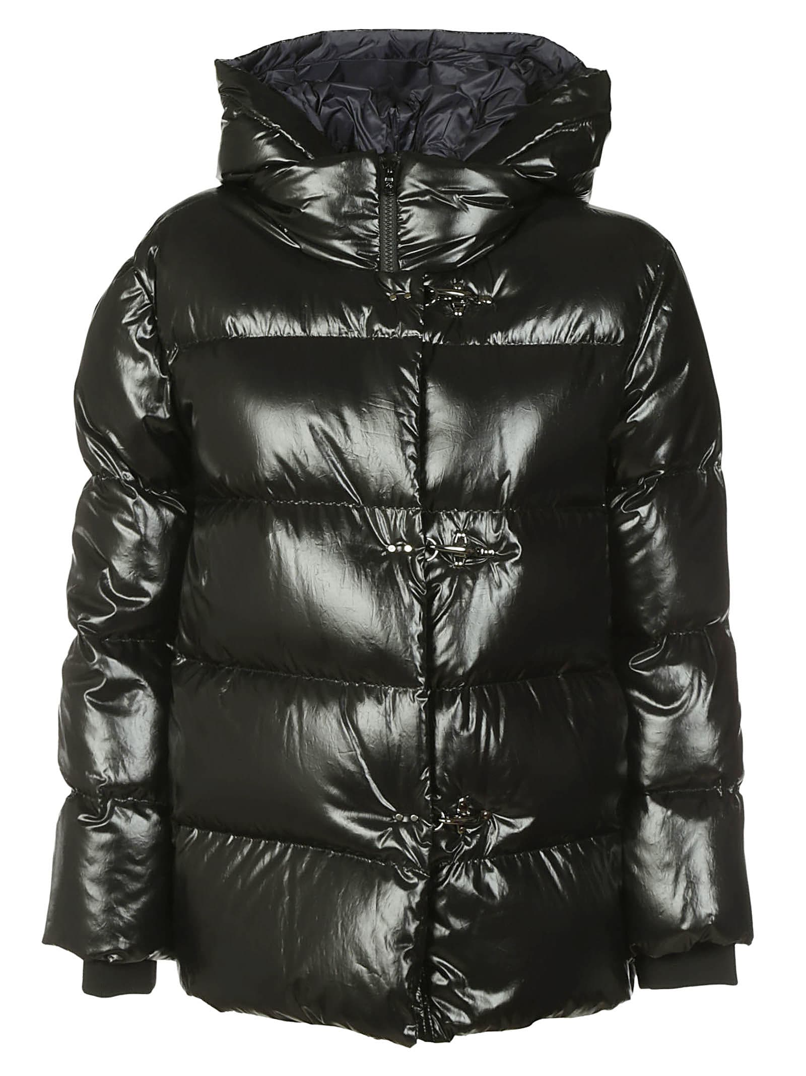 Fay High Neck Padded Jacket