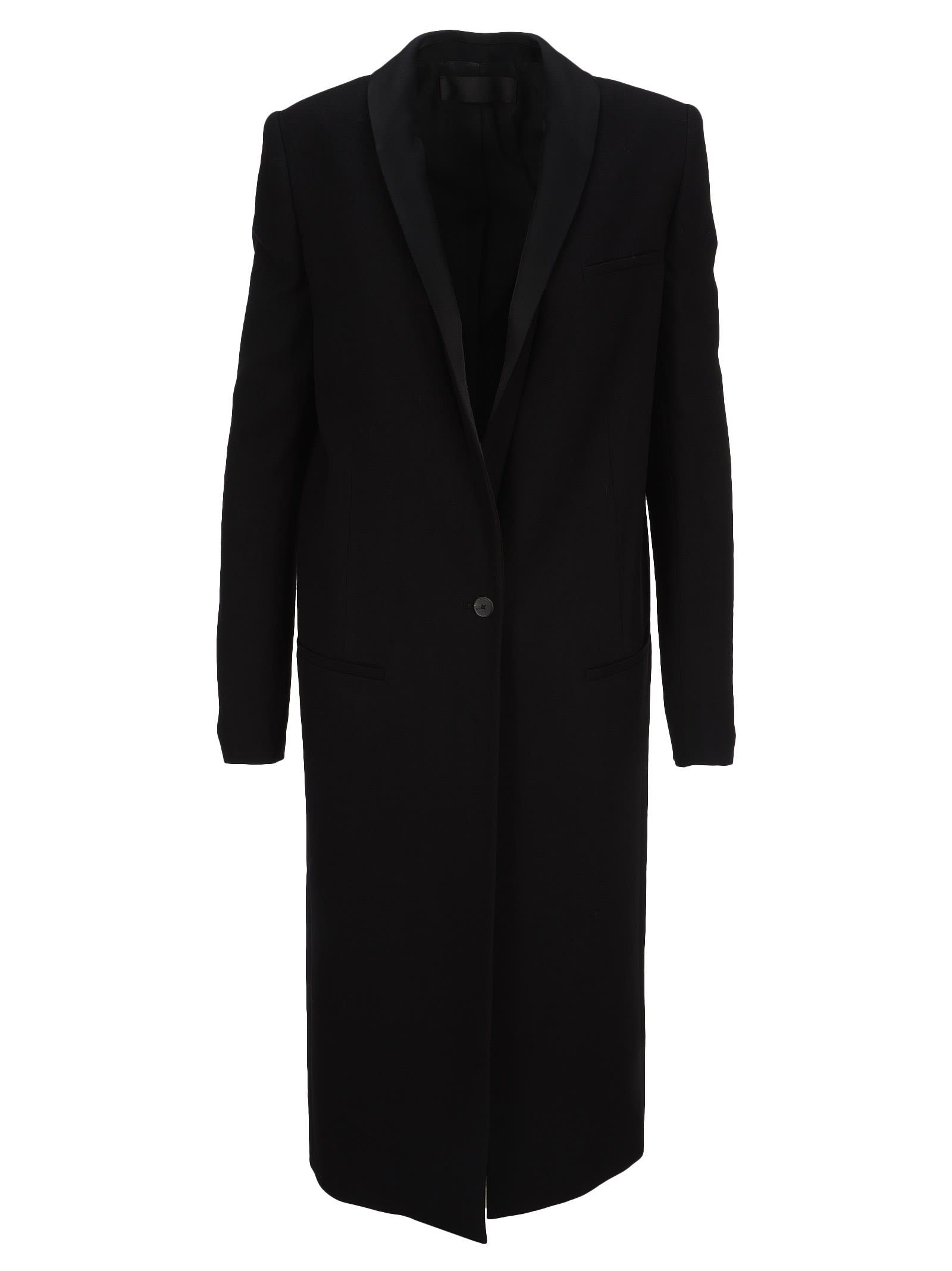 Haider Ackermann SINGLE BREASTED TUXEDO COAT