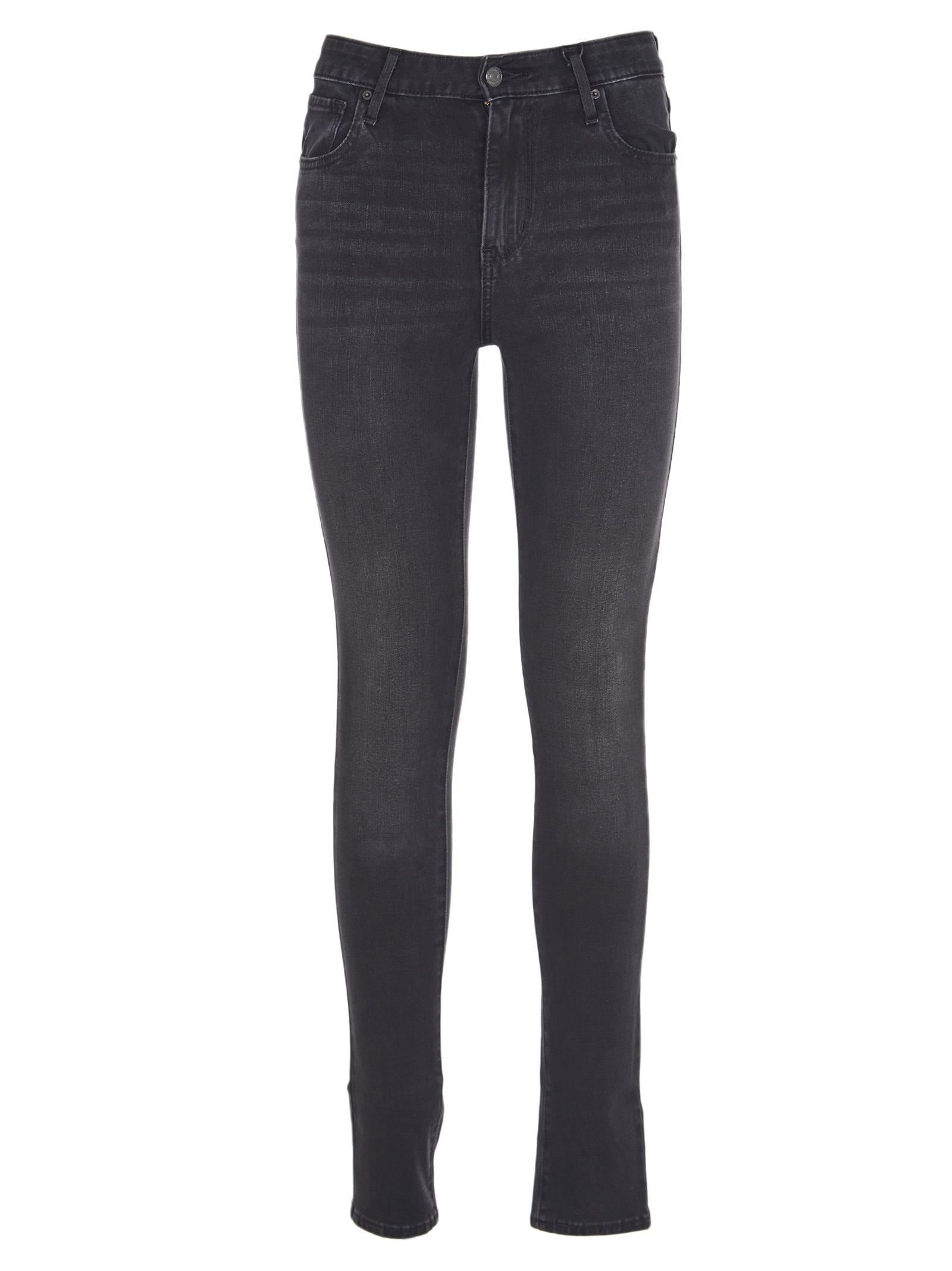 Levis Black Hight Waist 721 Jeans