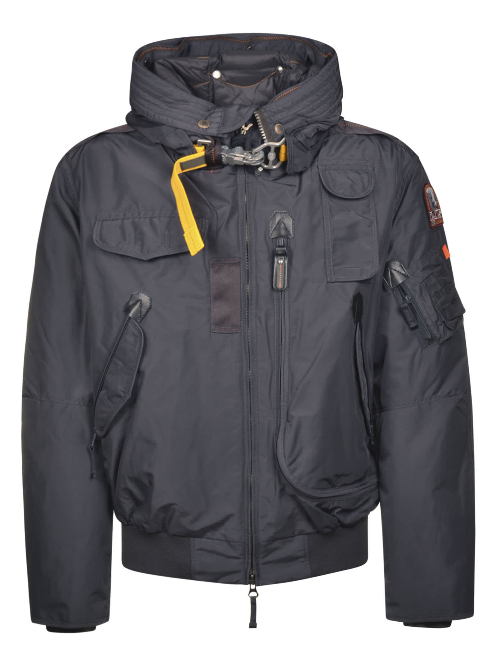 Parajumpers Cropped Multi-pocket Jacket In Phantom