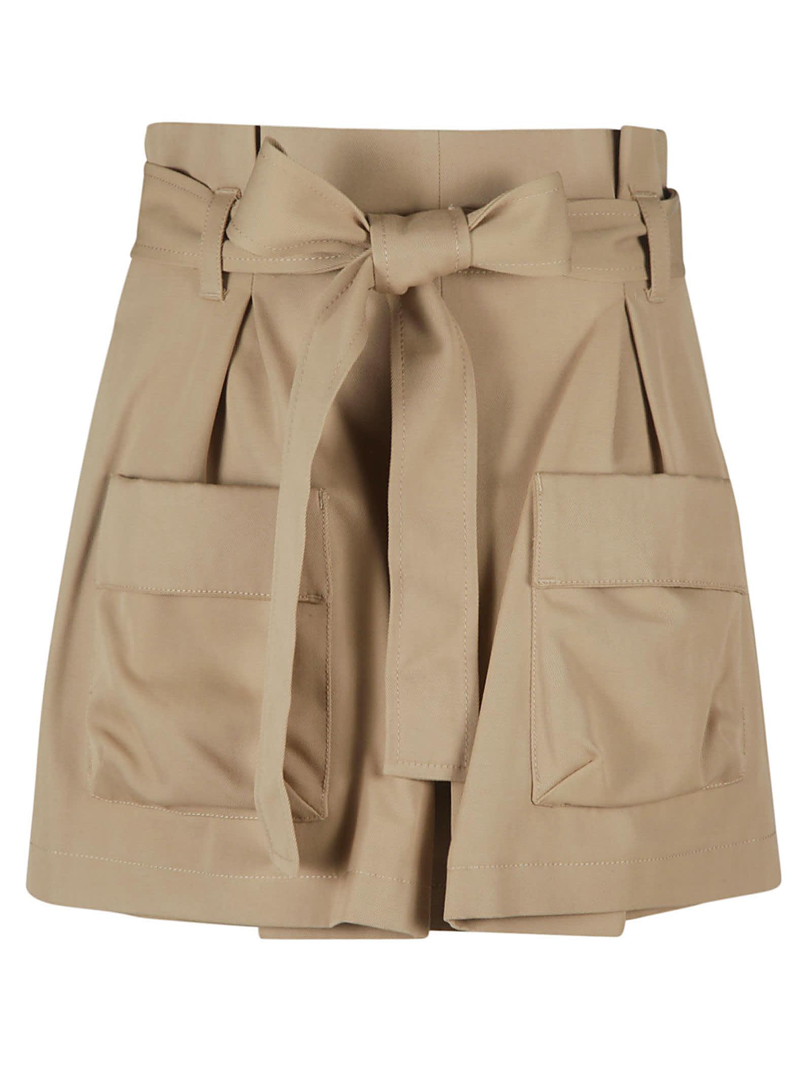 Red Valentino Shorts GABARDINE SHORTS