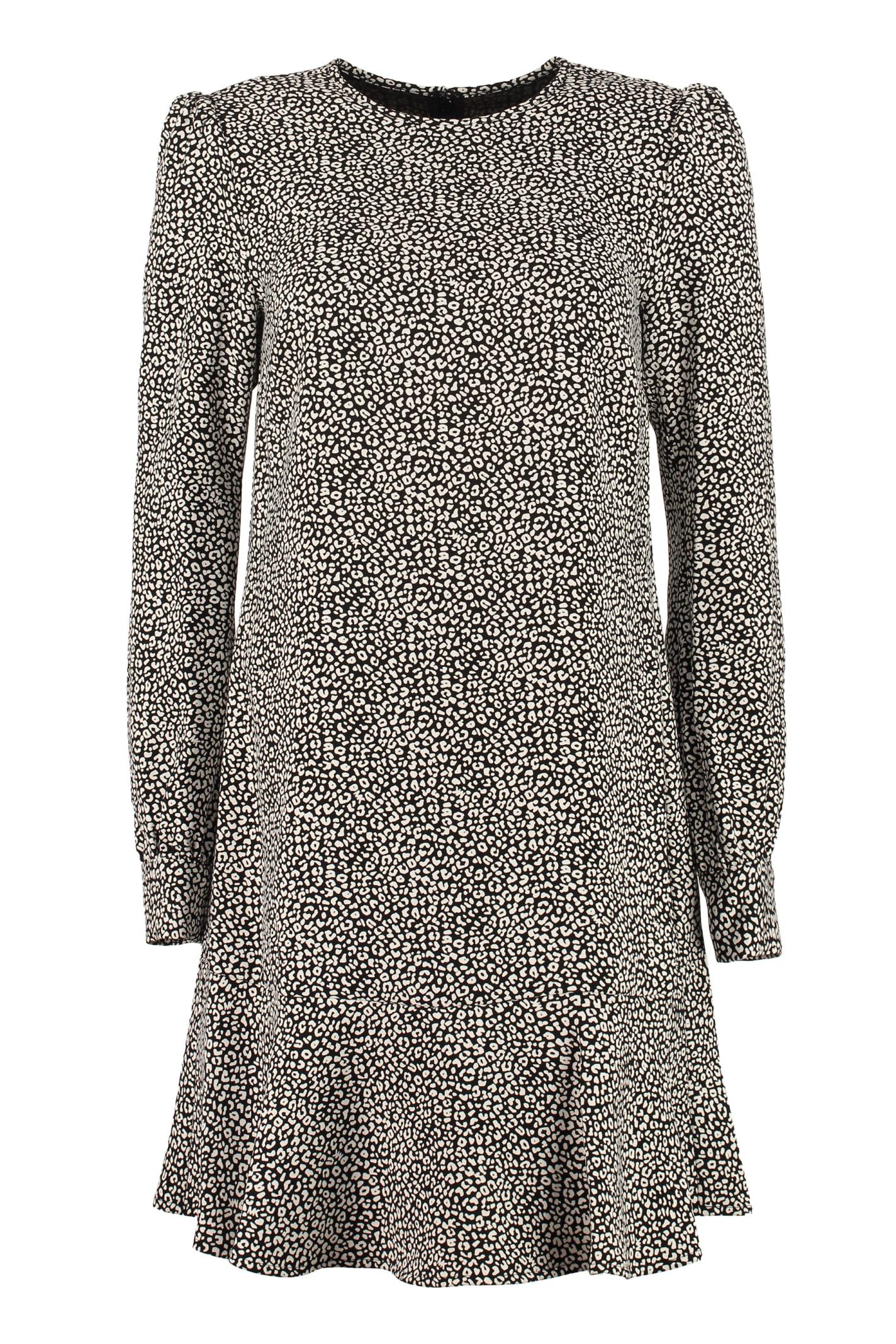 Buy MICHAEL Michael Kors Dress With Raffled Edges online, shop MICHAEL Michael Kors with free shipping