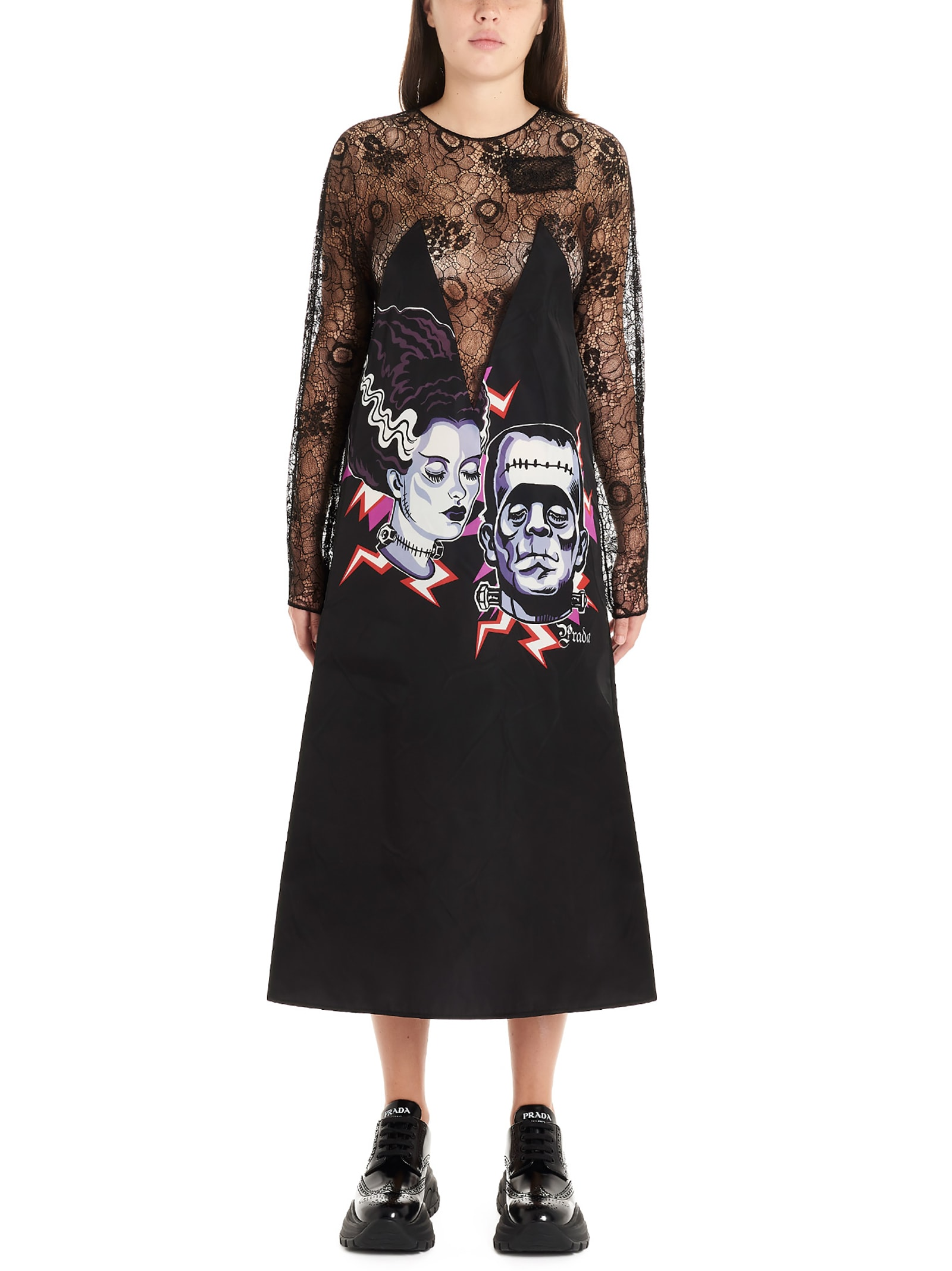 Buy Prada couple Dress online, shop Prada with free shipping