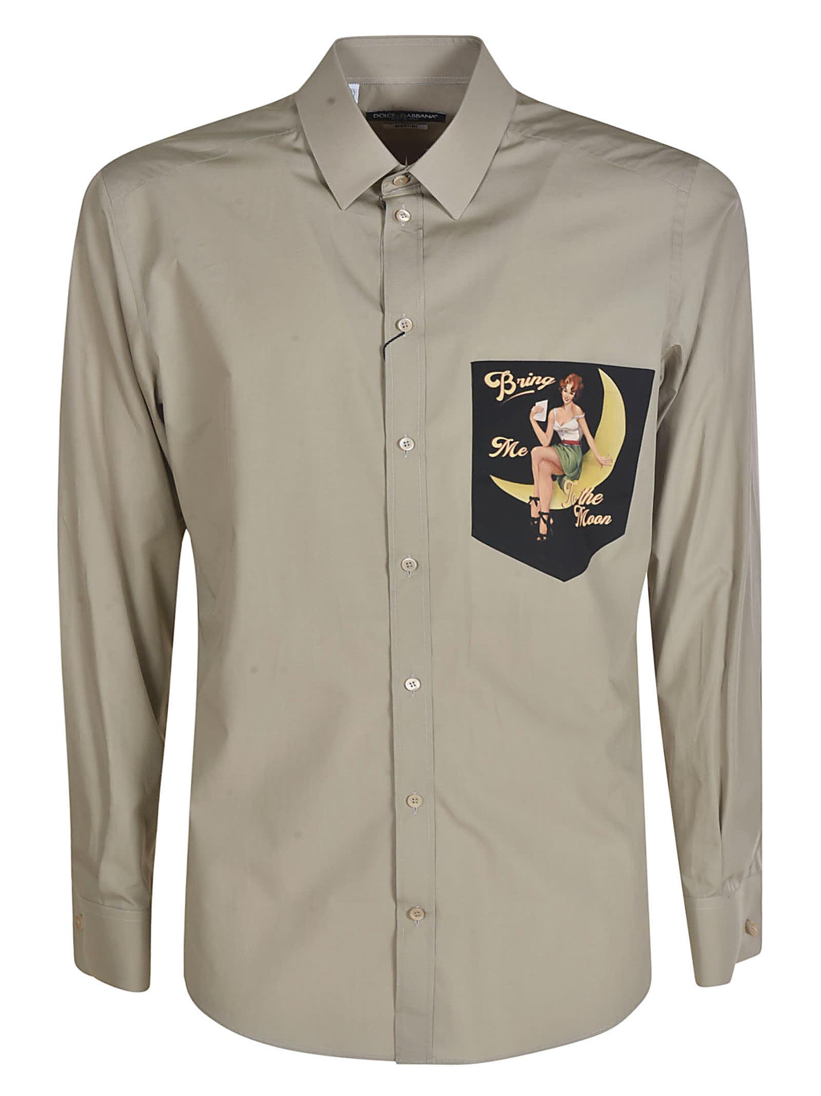 Dolce & Gabbana Patched Shirt