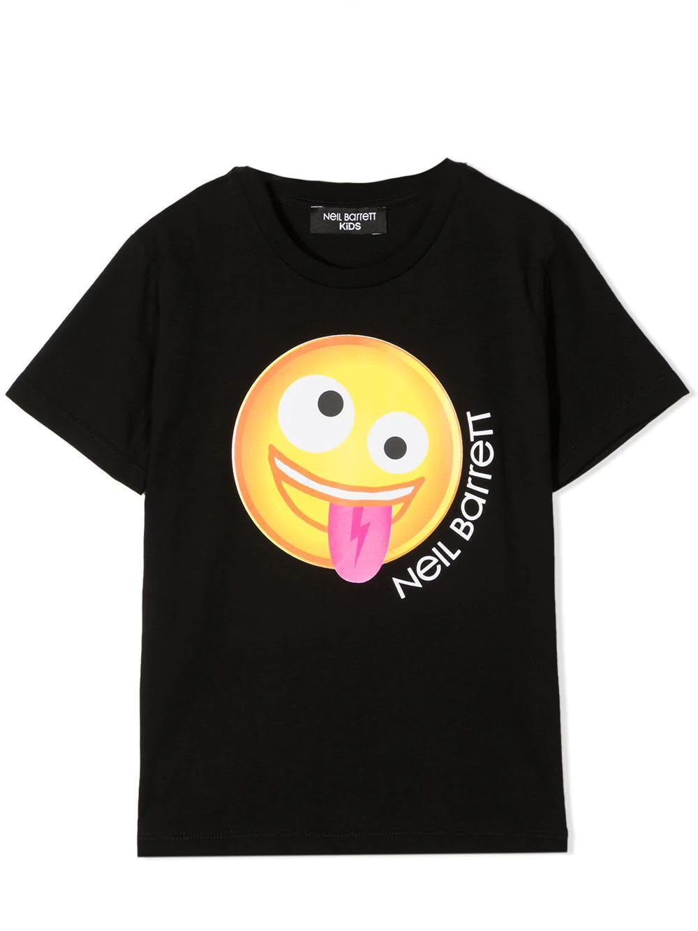 Neil Barrett Kids' Print T-shirt In Black