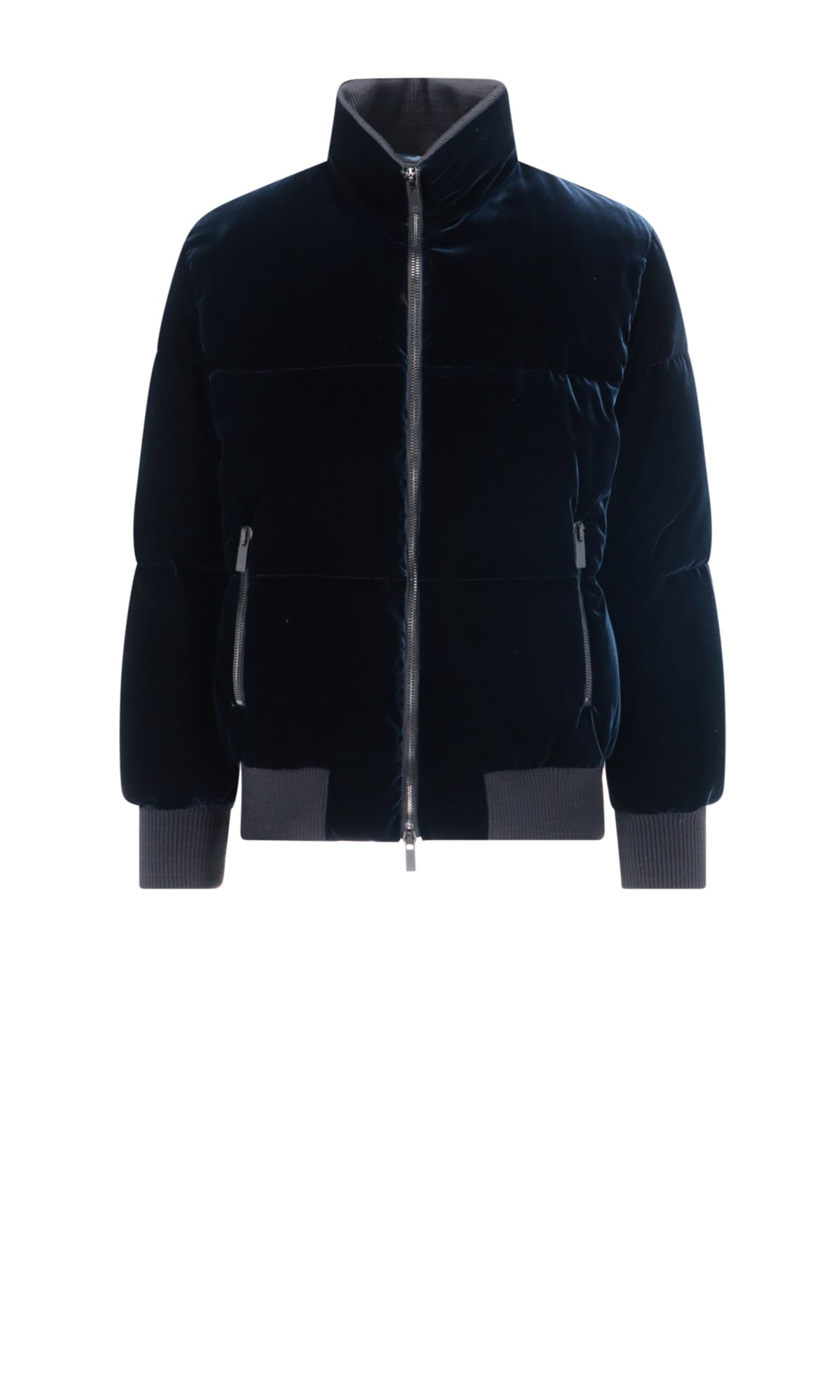 Giorgio Armani Jacket In Blue