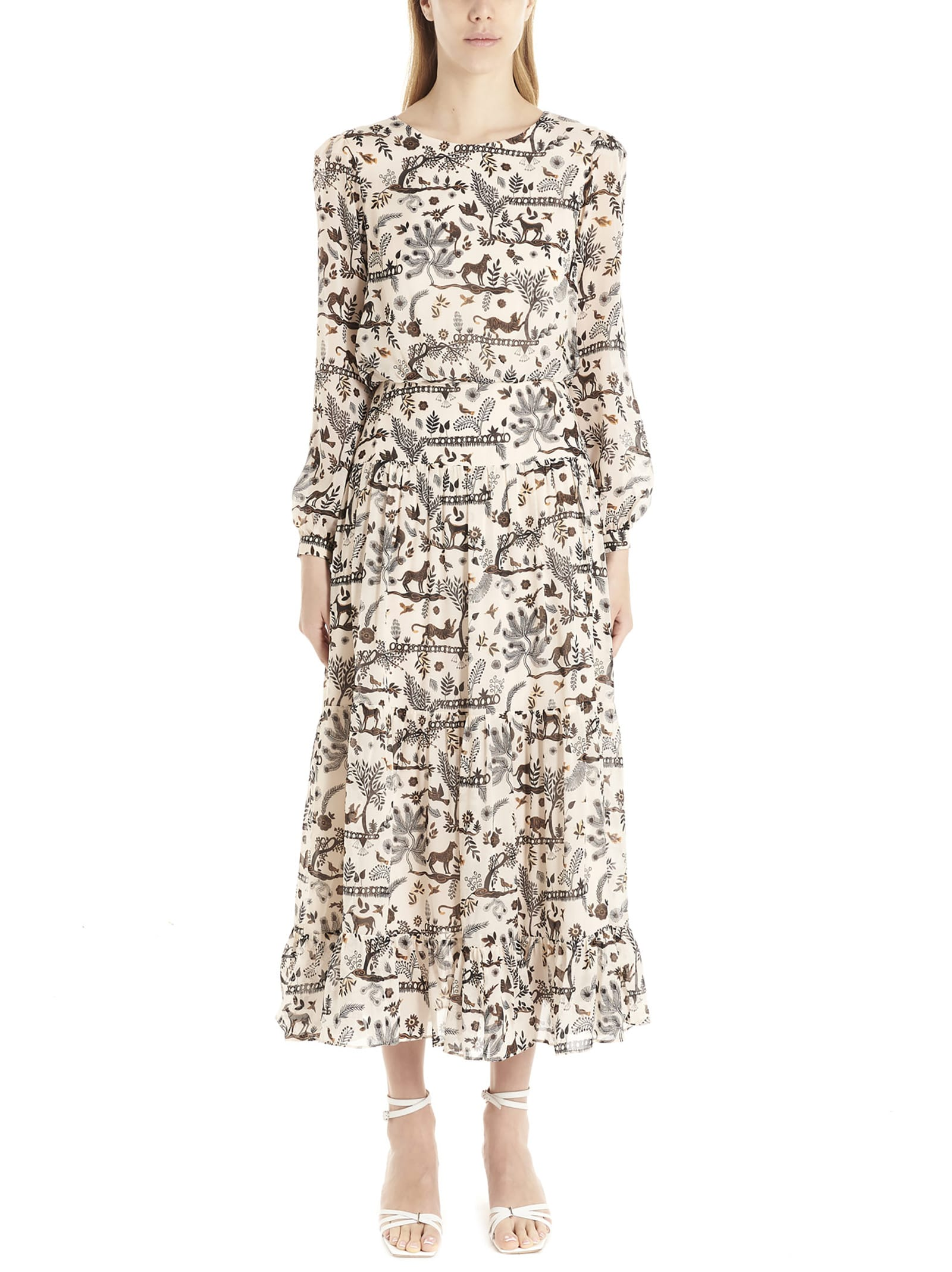 Buy Saloni isabel Dress online, shop Saloni with free shipping