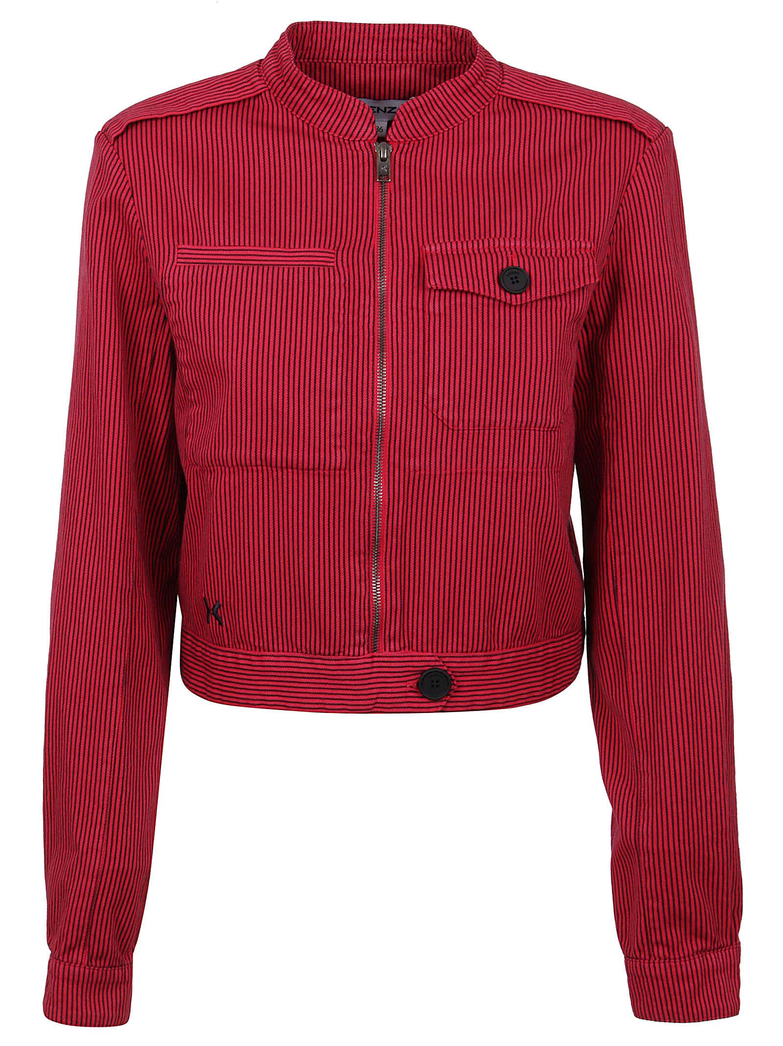 Kenzo Fitted Blouson Jacket