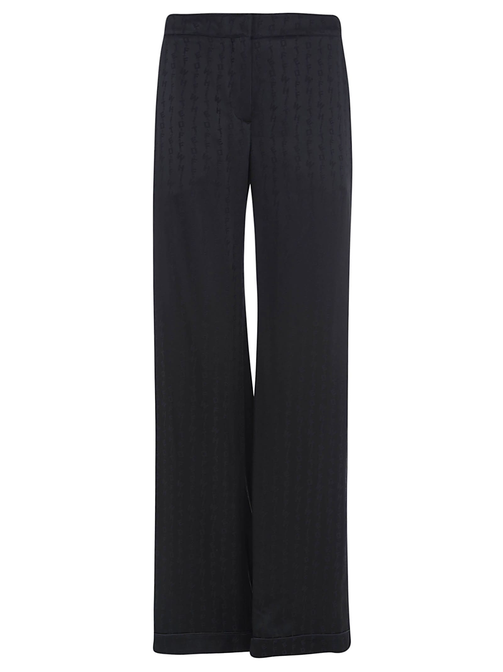 Off-White Long Alphabet Panel Trousers