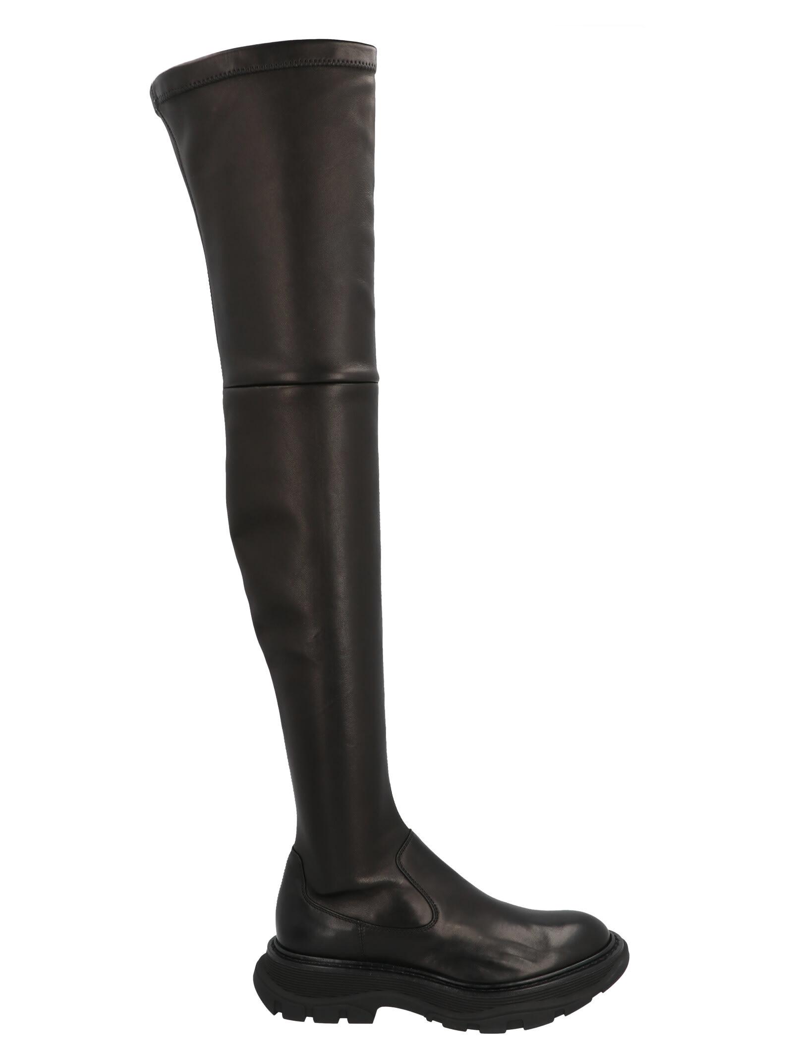 Buy Alexander Mcqueen Boot online, shop Alexander McQueen shoes with free shipping