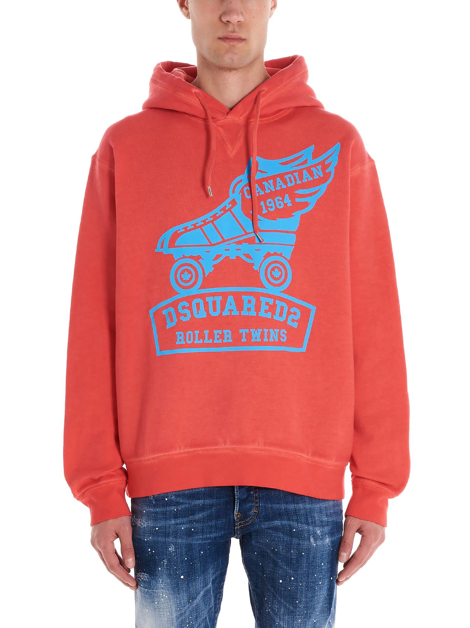 Dsquared2 roller Logo Hoodie
