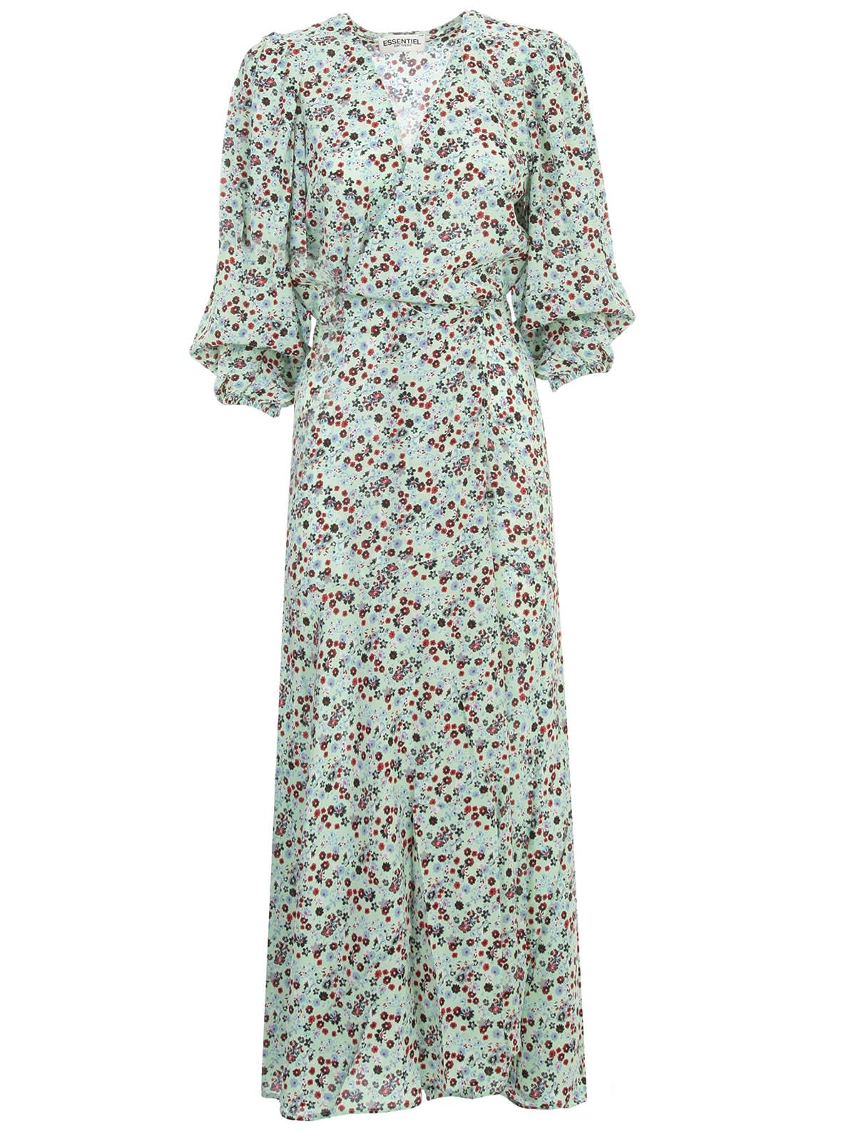 Buy Essentiel Antwerp Vip Long Wrap Dress L/s online, shop Essentiel Antwerp with free shipping
